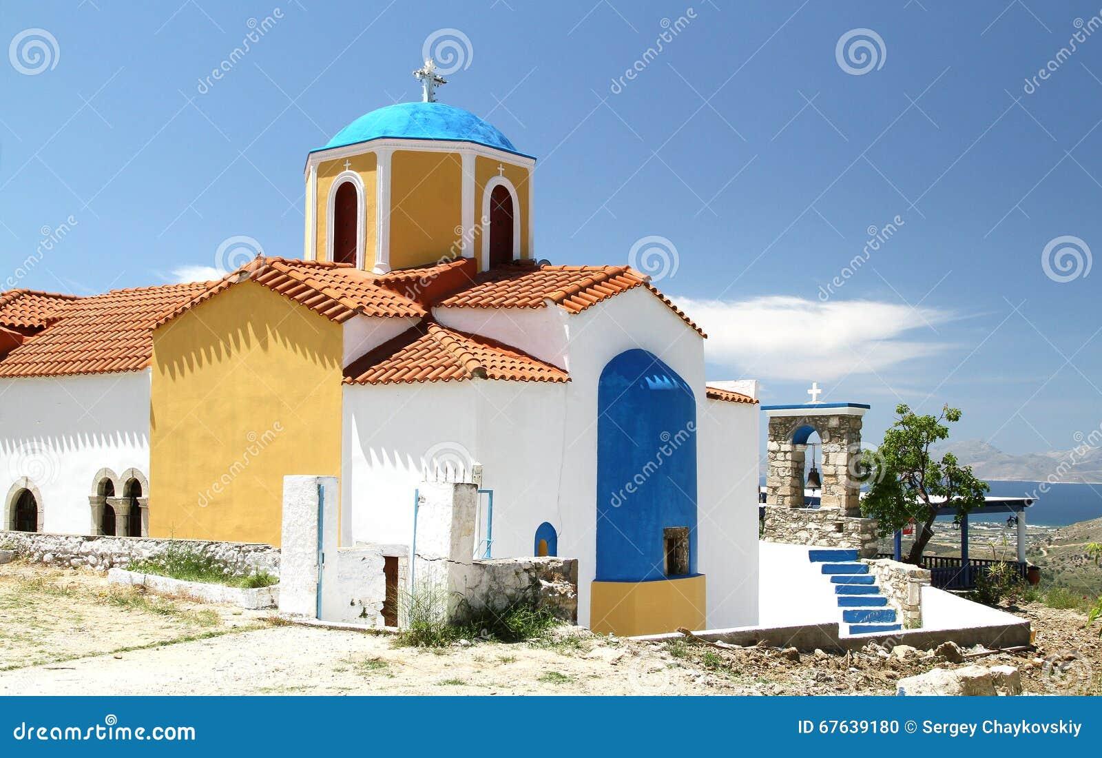 Église de notre Madame de Kyparissia sur Kos