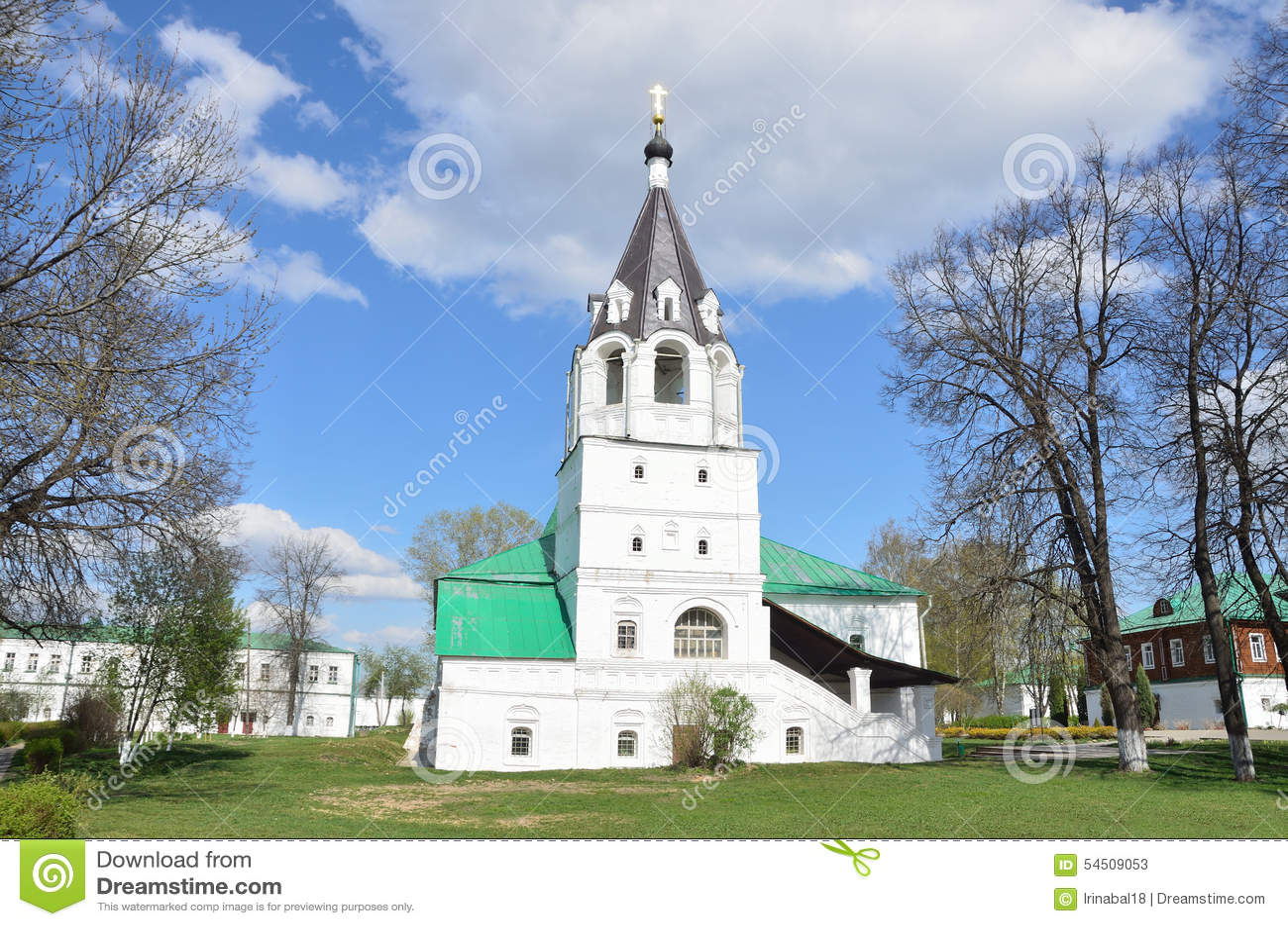 Église de Pokrovskaya dans Alexandrovskaya Sloboda, Alexandrov, région de Vladimir, anneau d or de la Russie