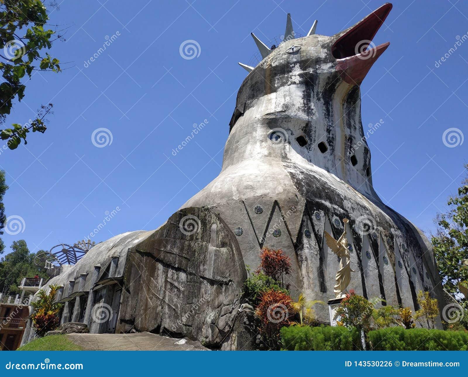 église de poulet
