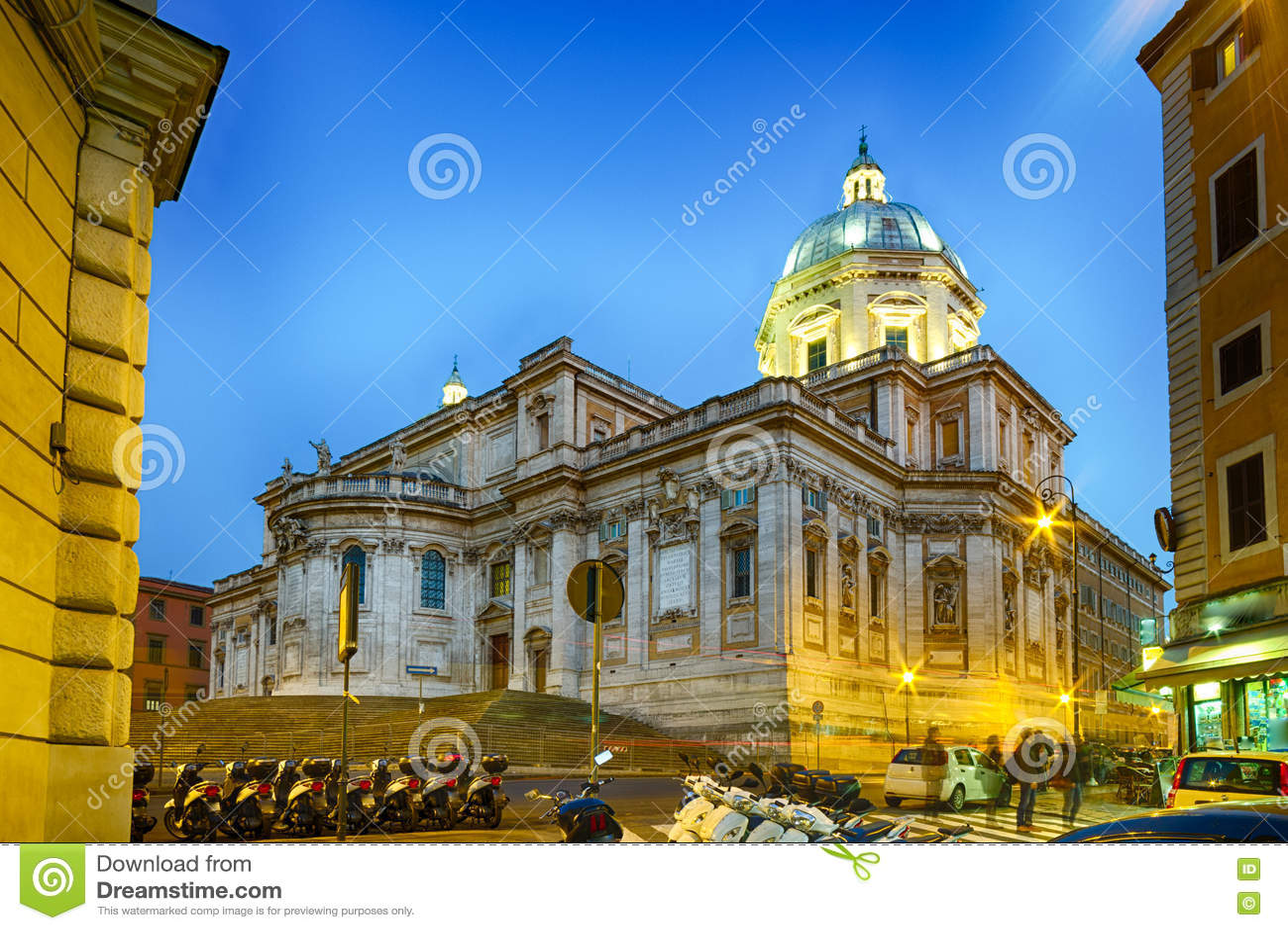 Église de saint Mary Major à Rome, Ital