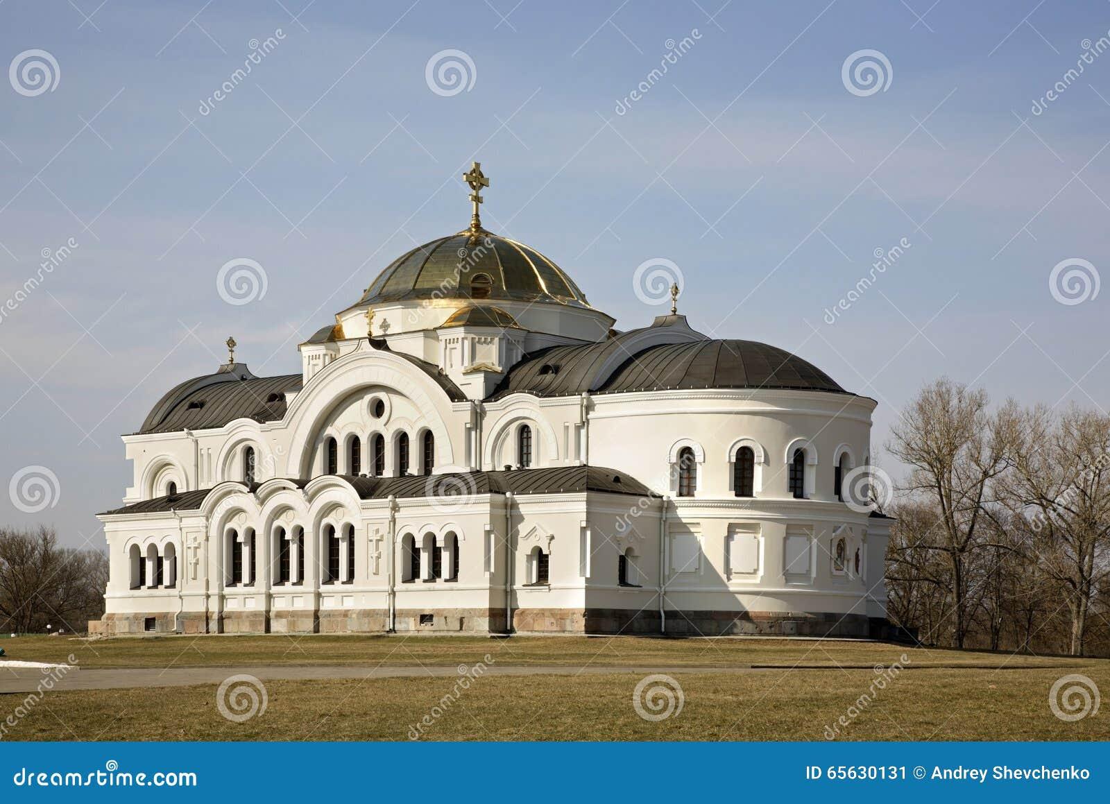 Église de Saint-Nicolas dans des fortres de Brest-Litovsk à Brest Brest