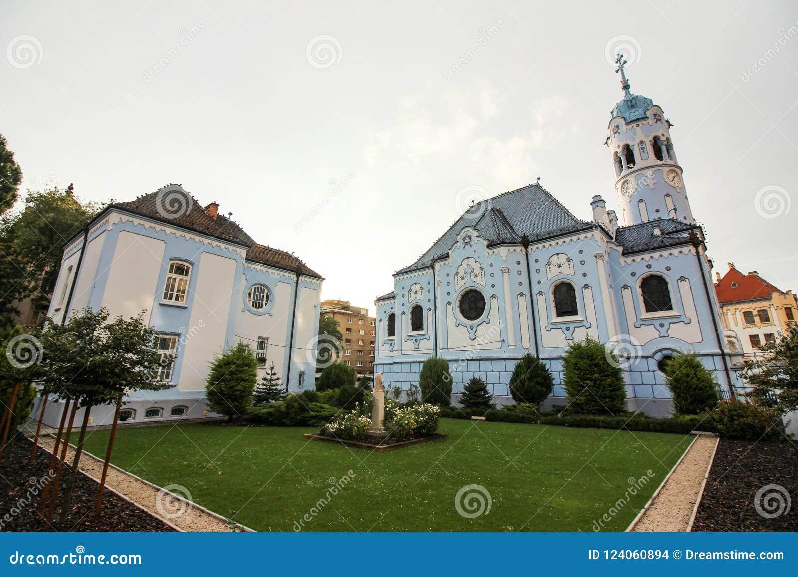 Église de St Elisabeth, église bleue, Bratislava, Slovaquie