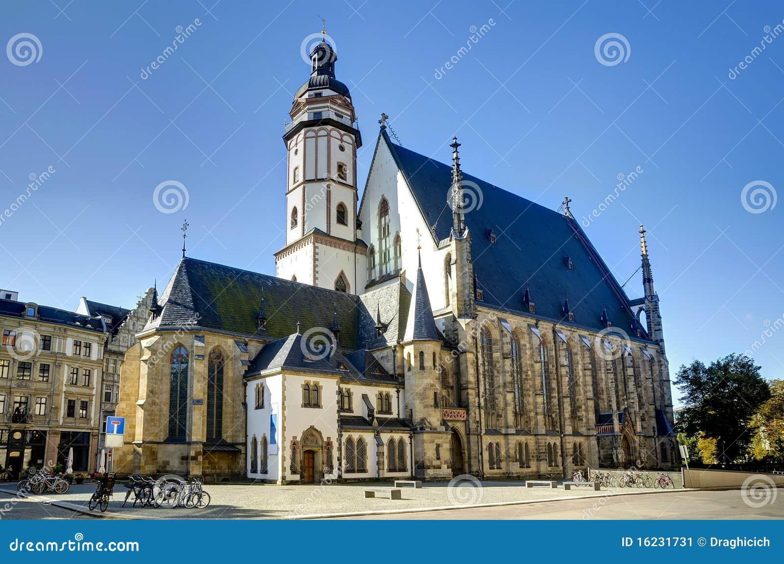 Église de Thomas à Leipzig