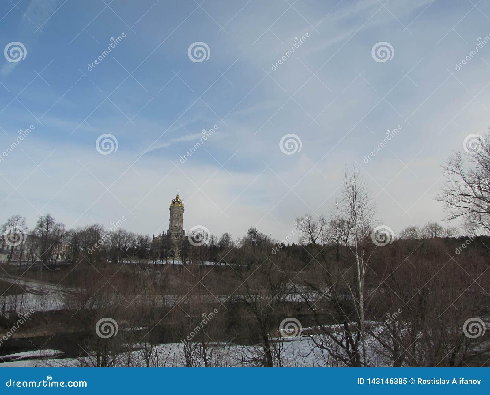 Église de Znamenskaya dans Dubrovitsy