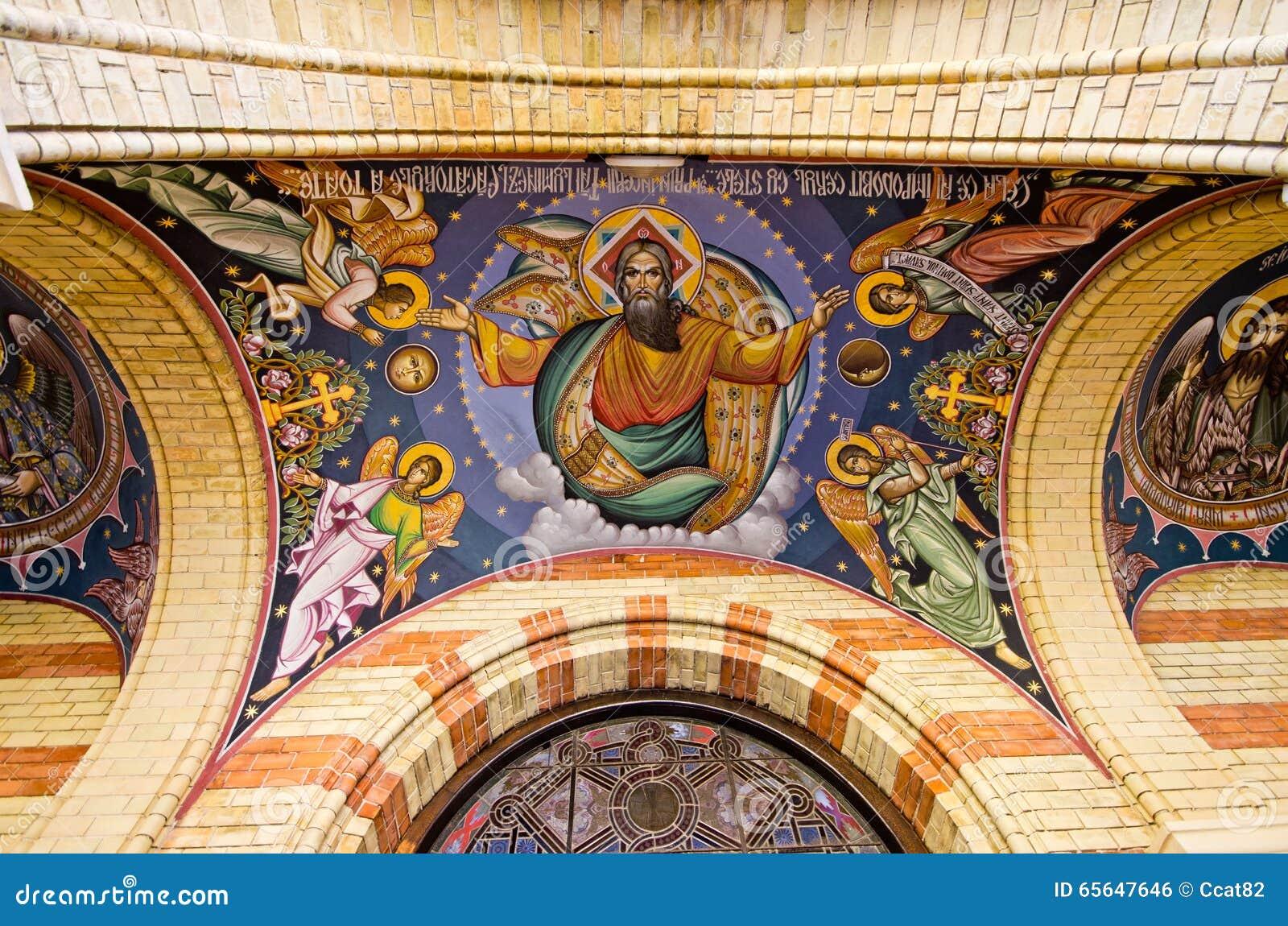 Église en Alba Iulia - la Roumanie