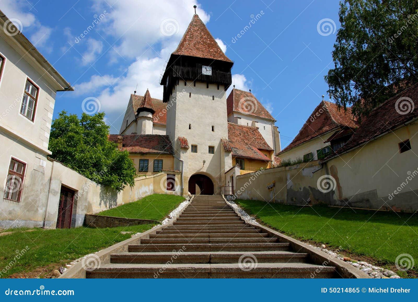 Église enrichie de Bazna