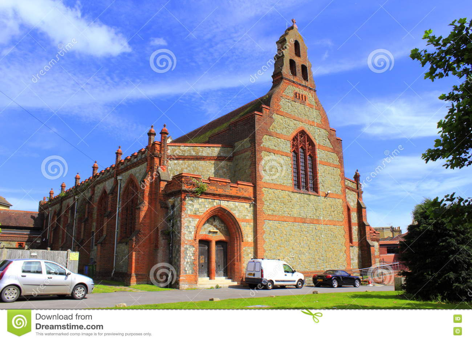 Église Folkestone Kent United Kingdom de sauveurs de St