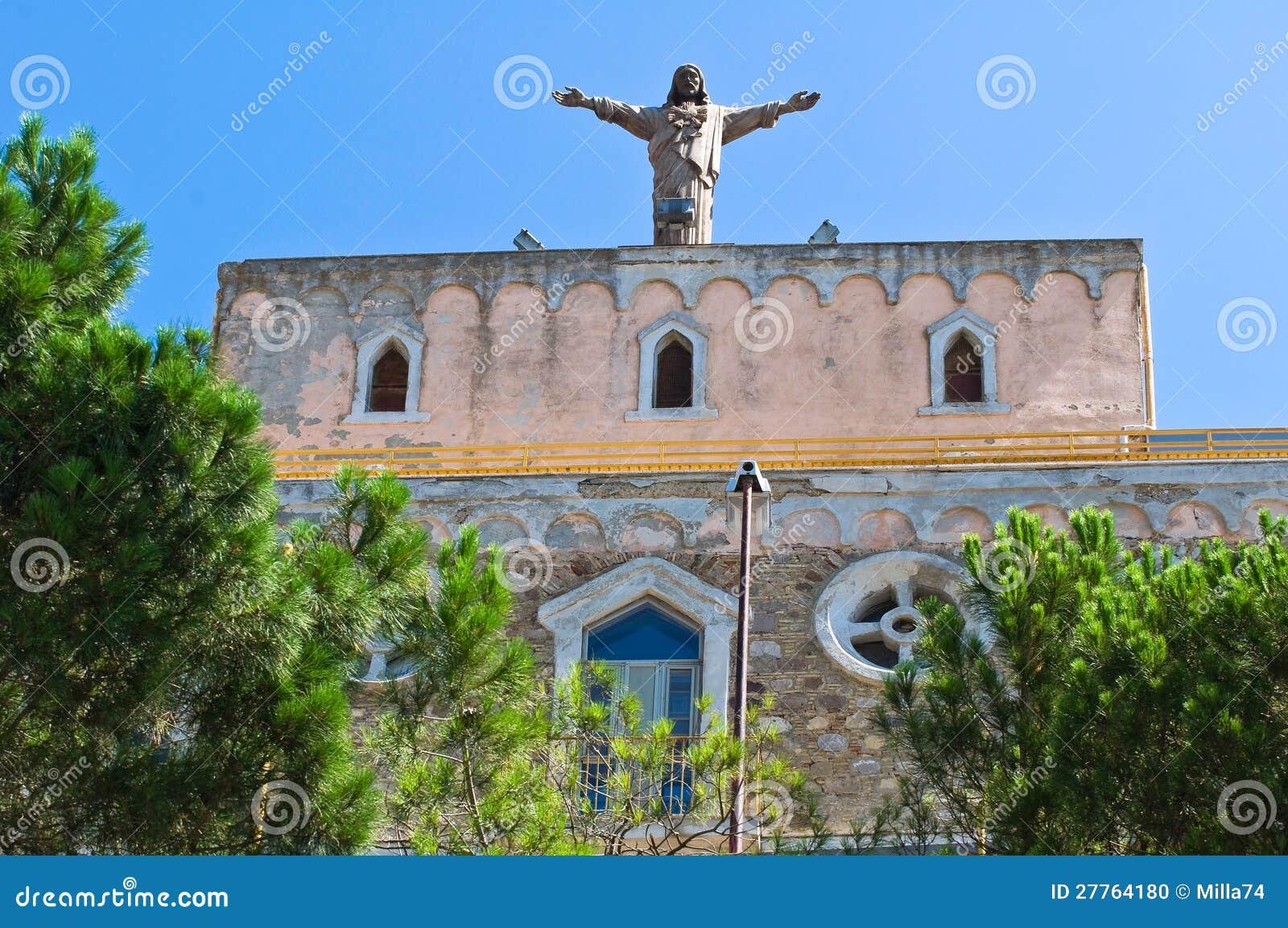 Église historique. Sant Agata di Puglia. L Italie.