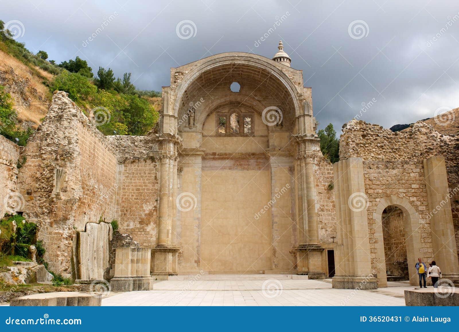 Église inachevée de Cazorla.