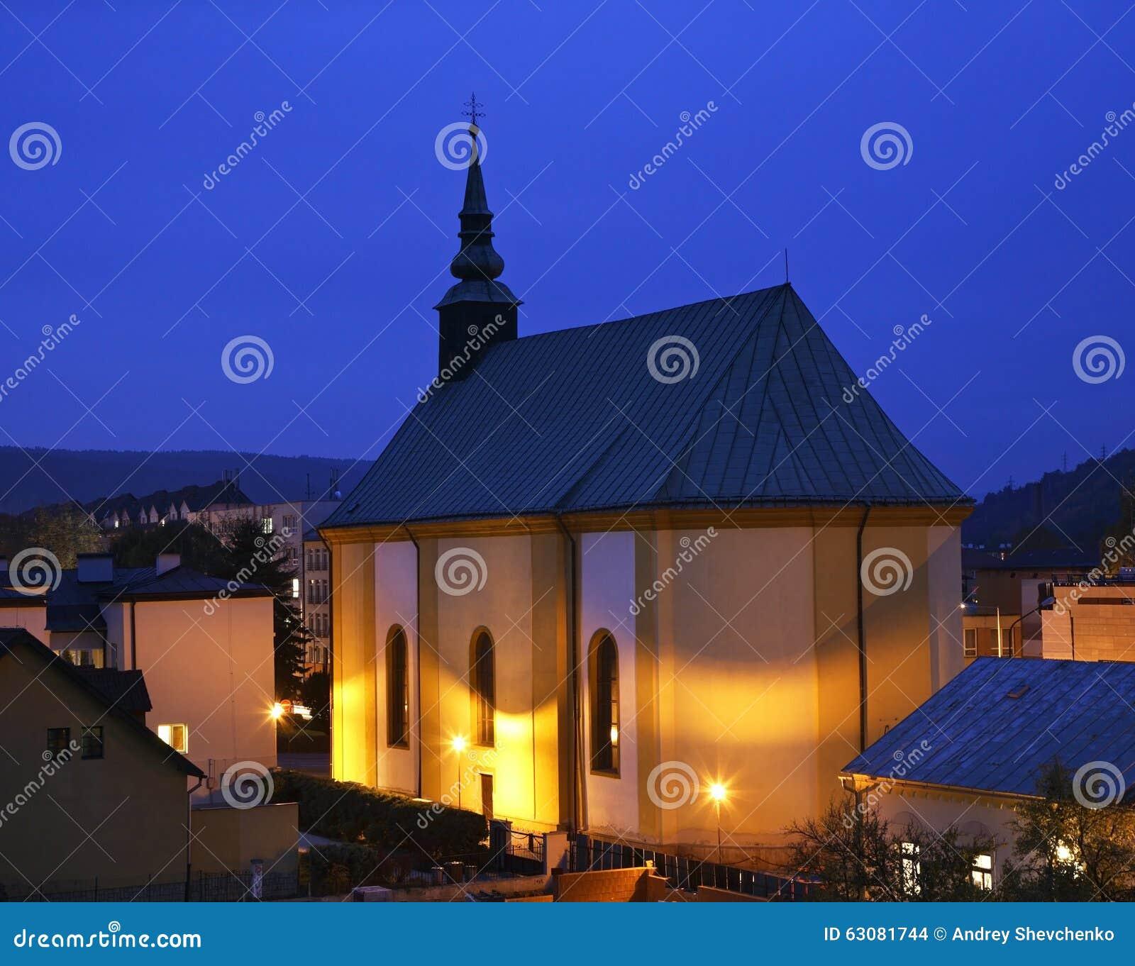 Download Église Luthérienne Dans Bardejov Slovakia Photo stock - Image du showplace, cloche: 63081744