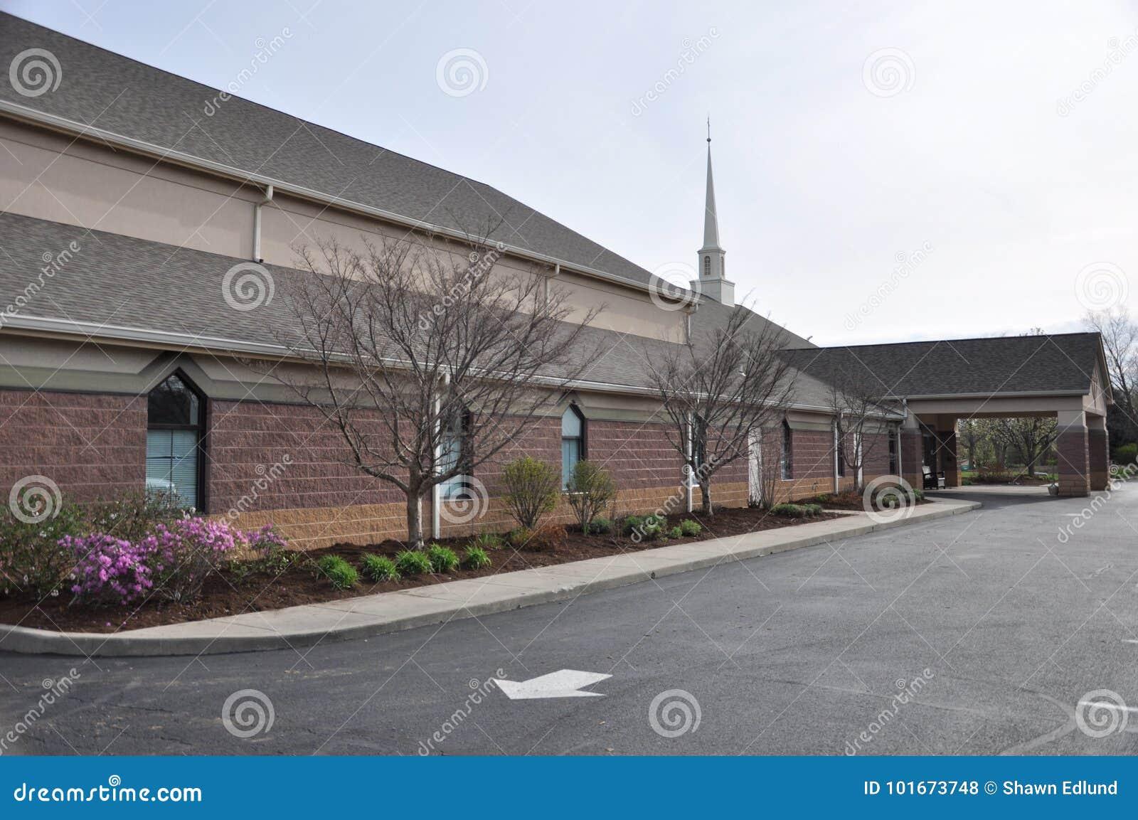 Église luthérienne et école maternelle de Messie chez Eagle Creek