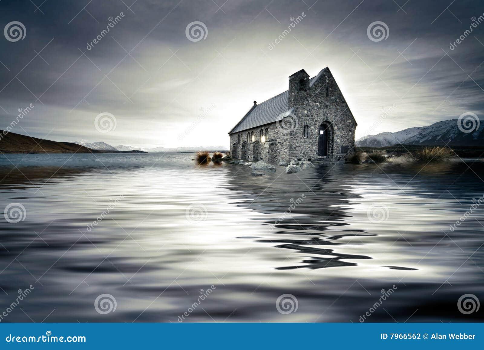 église noyée