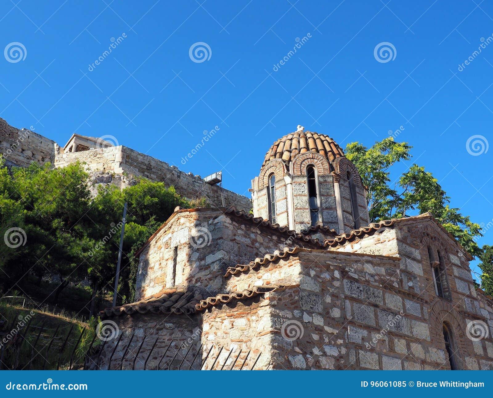 Église orthodoxe grecque bizantine, Athènes, Grèce