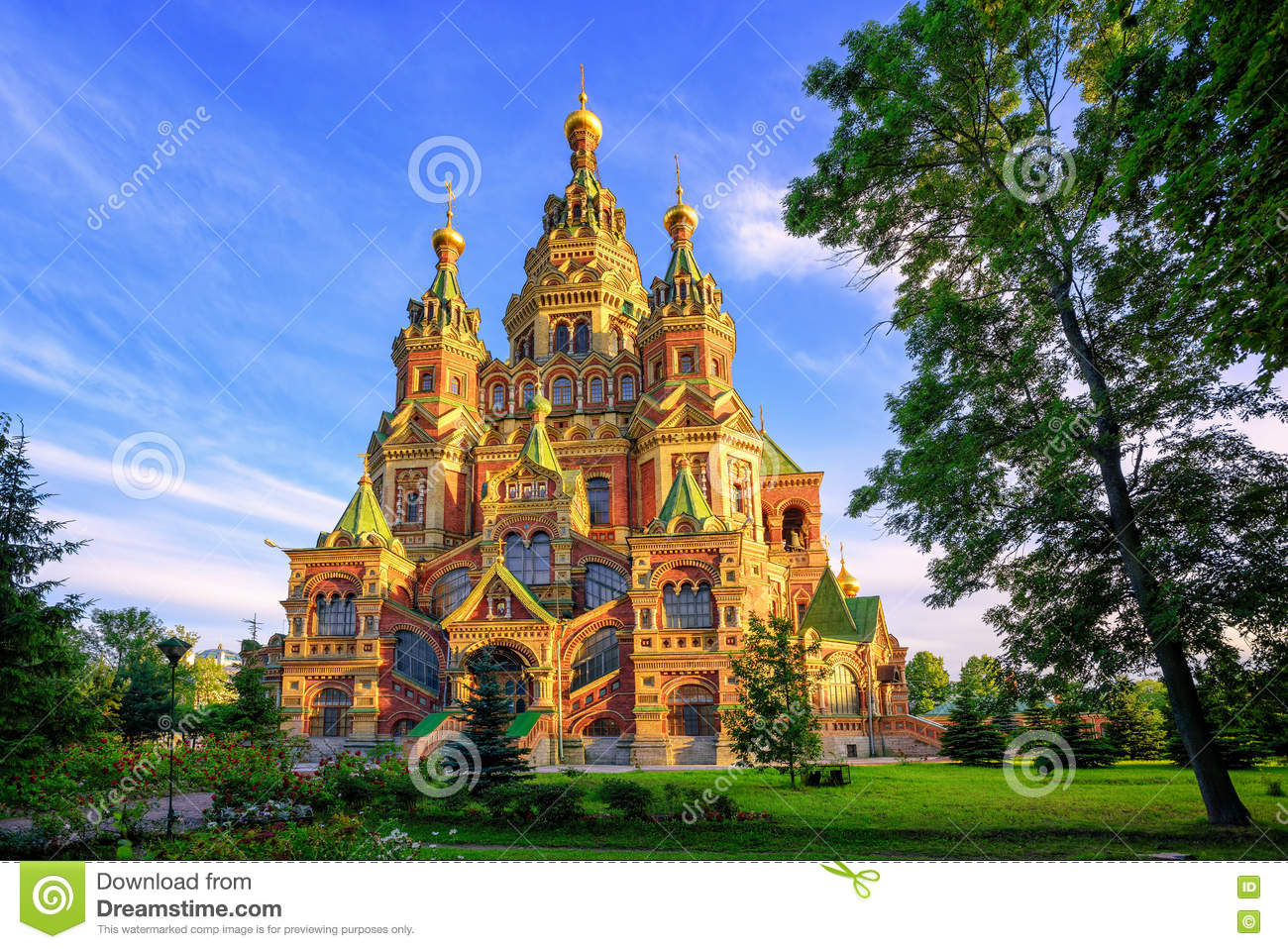 Église orthodoxe russe, St Petersburg, Russie