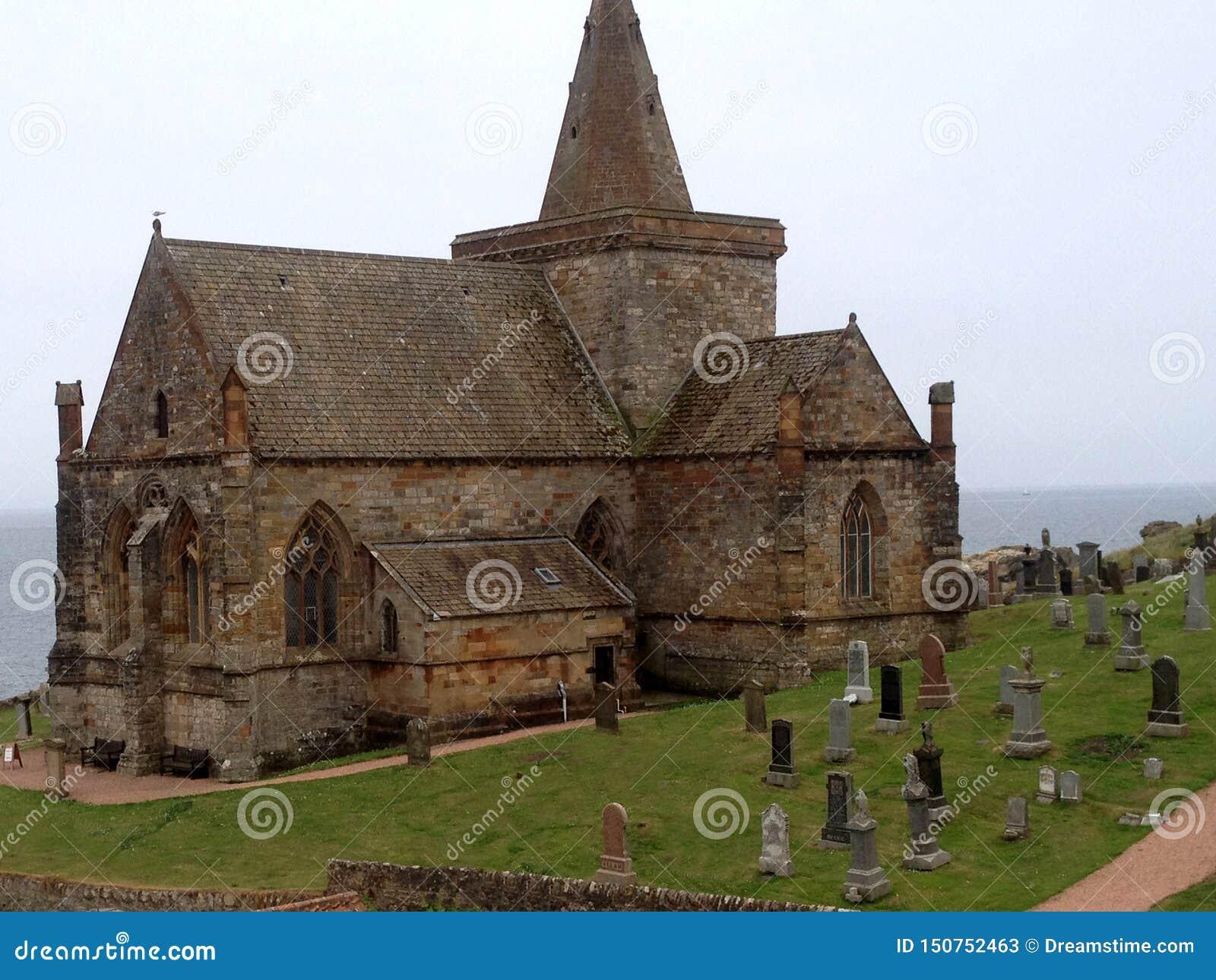 Église ou Kirk de Monans de saint