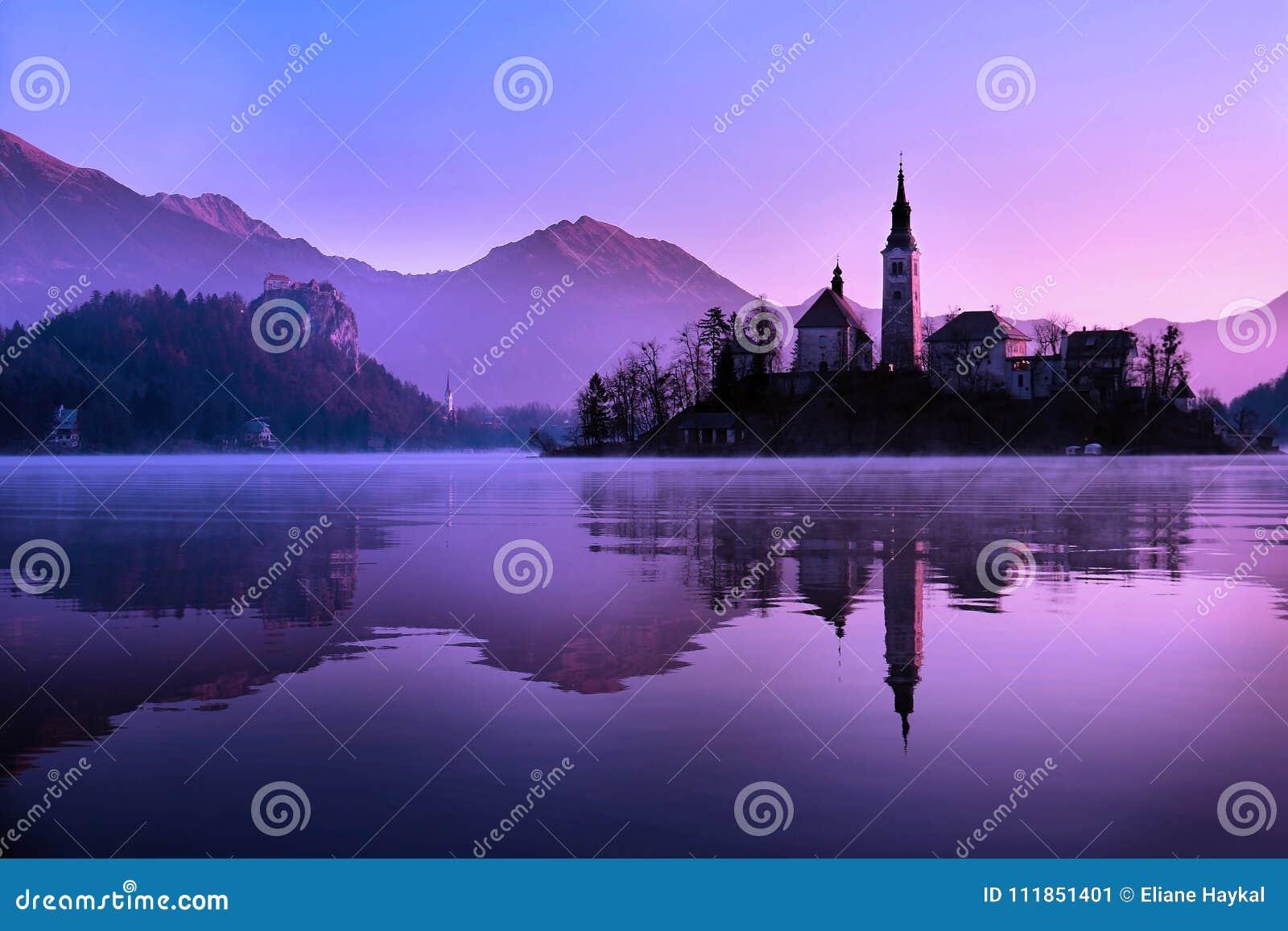 Église saignée, Slovénie