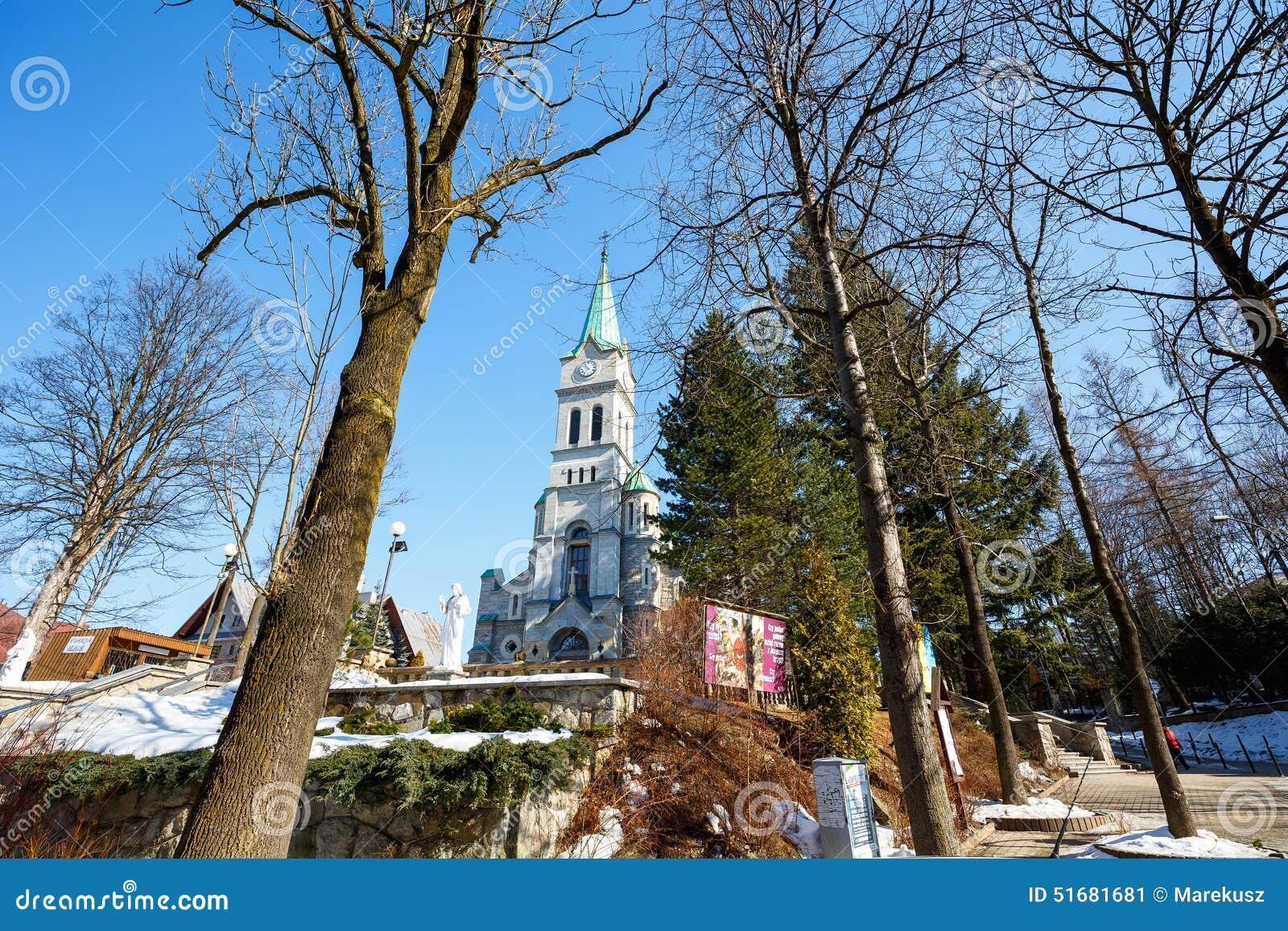 Église sainte de famille, Zakopane, Pologne
