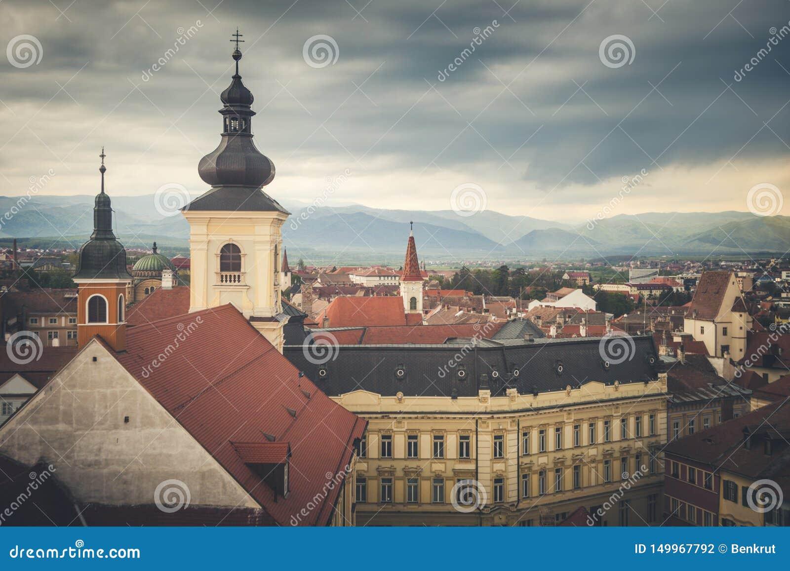 Église Trinity sainte à Sibiu