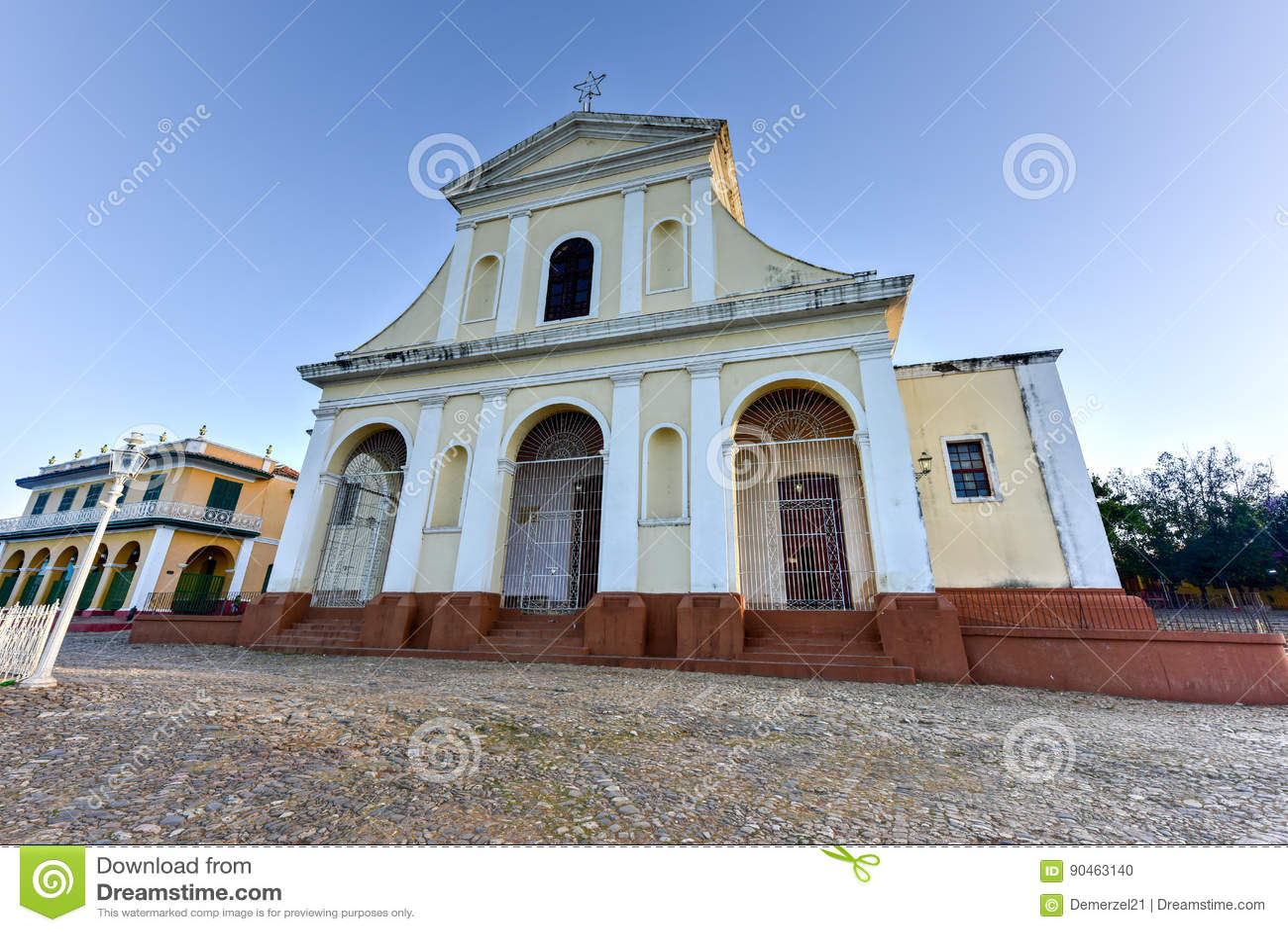 Église Trinity sainte - Trinidad, Cuba