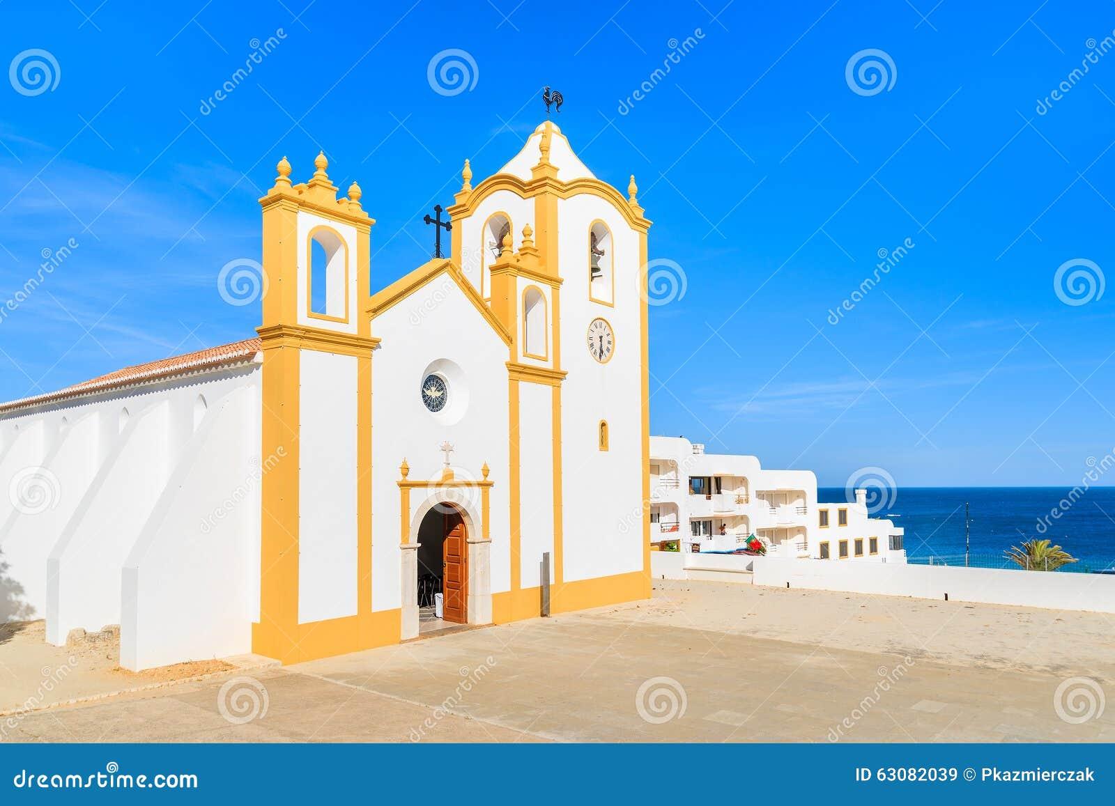 Download Église Typique En Ville De Luz Image stock - Image du landmark, historique: 63082039