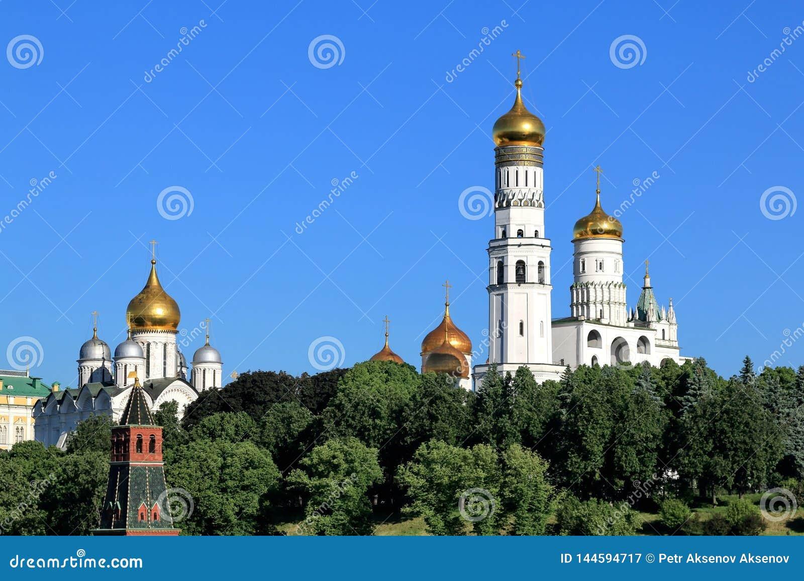 Églises orthodoxes de Moscou Kremlin