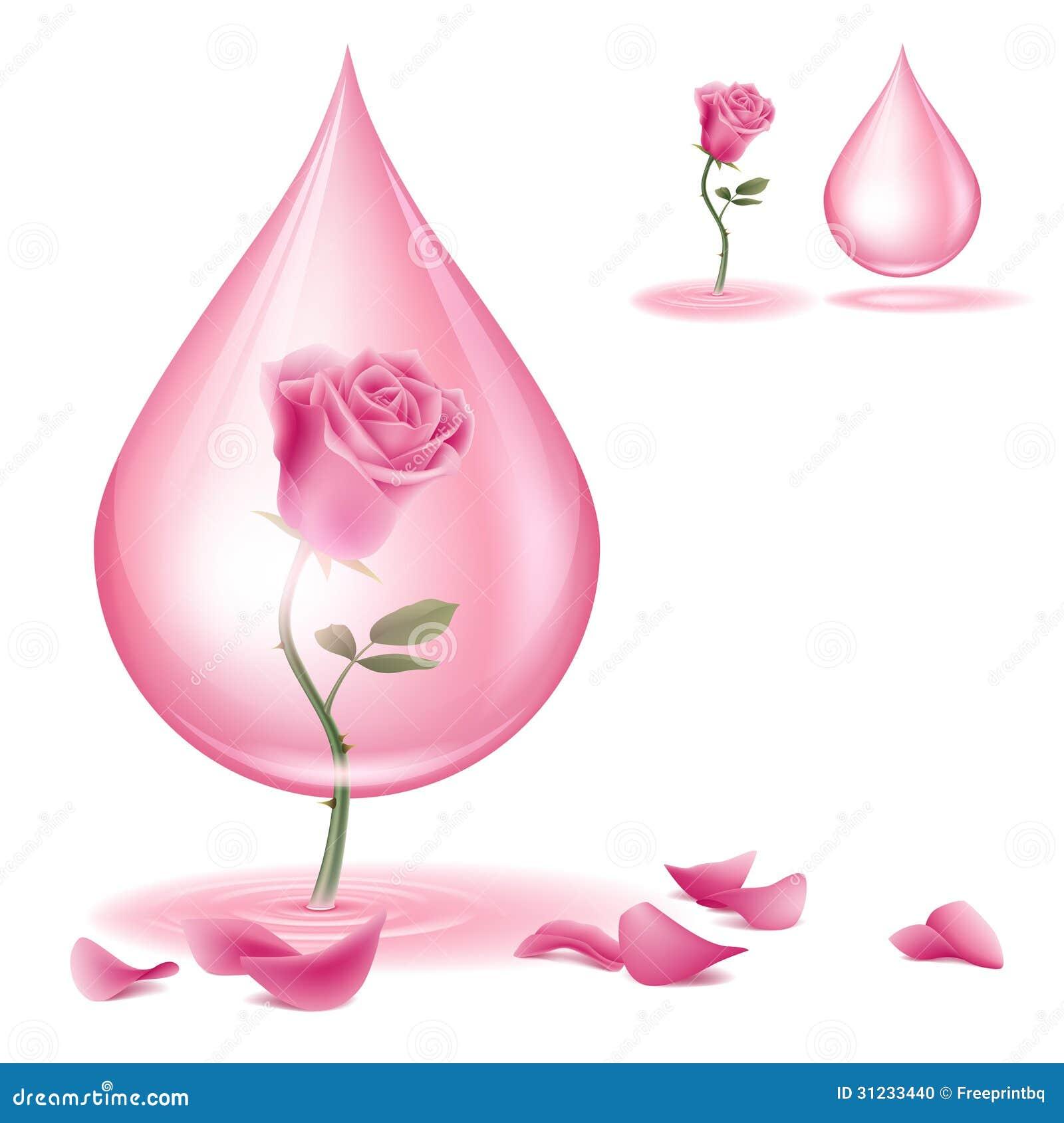 Égoutture d huile rose