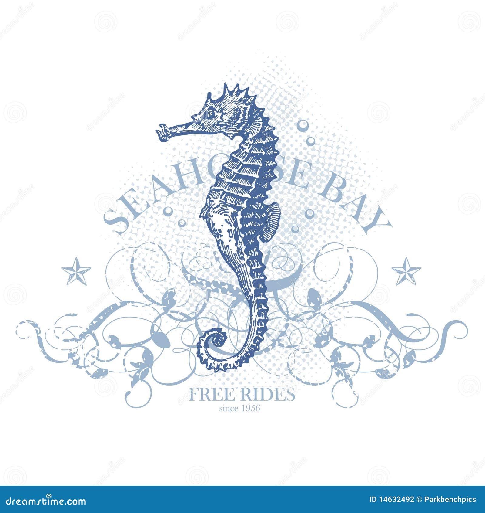 Hippocampe Dessin Realiste