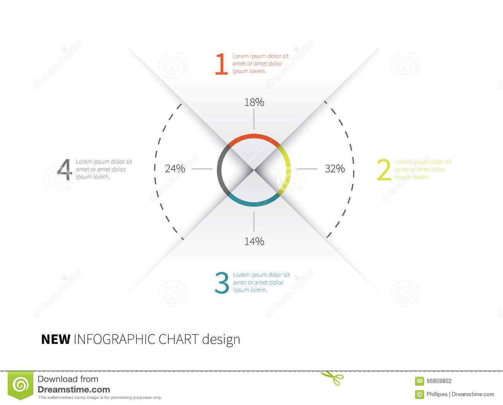 Élément de papier d Infographics