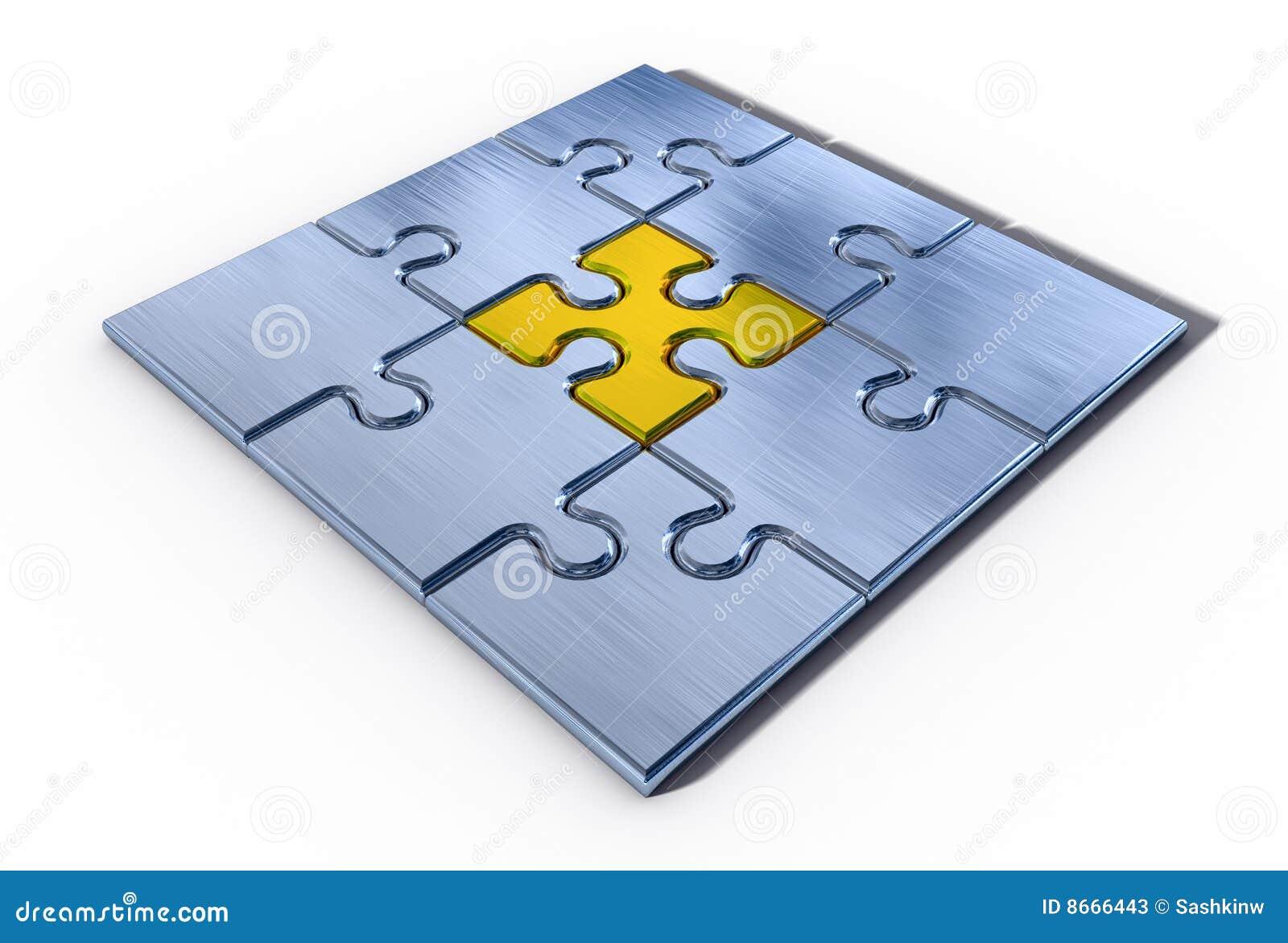 Élément important de puzzle