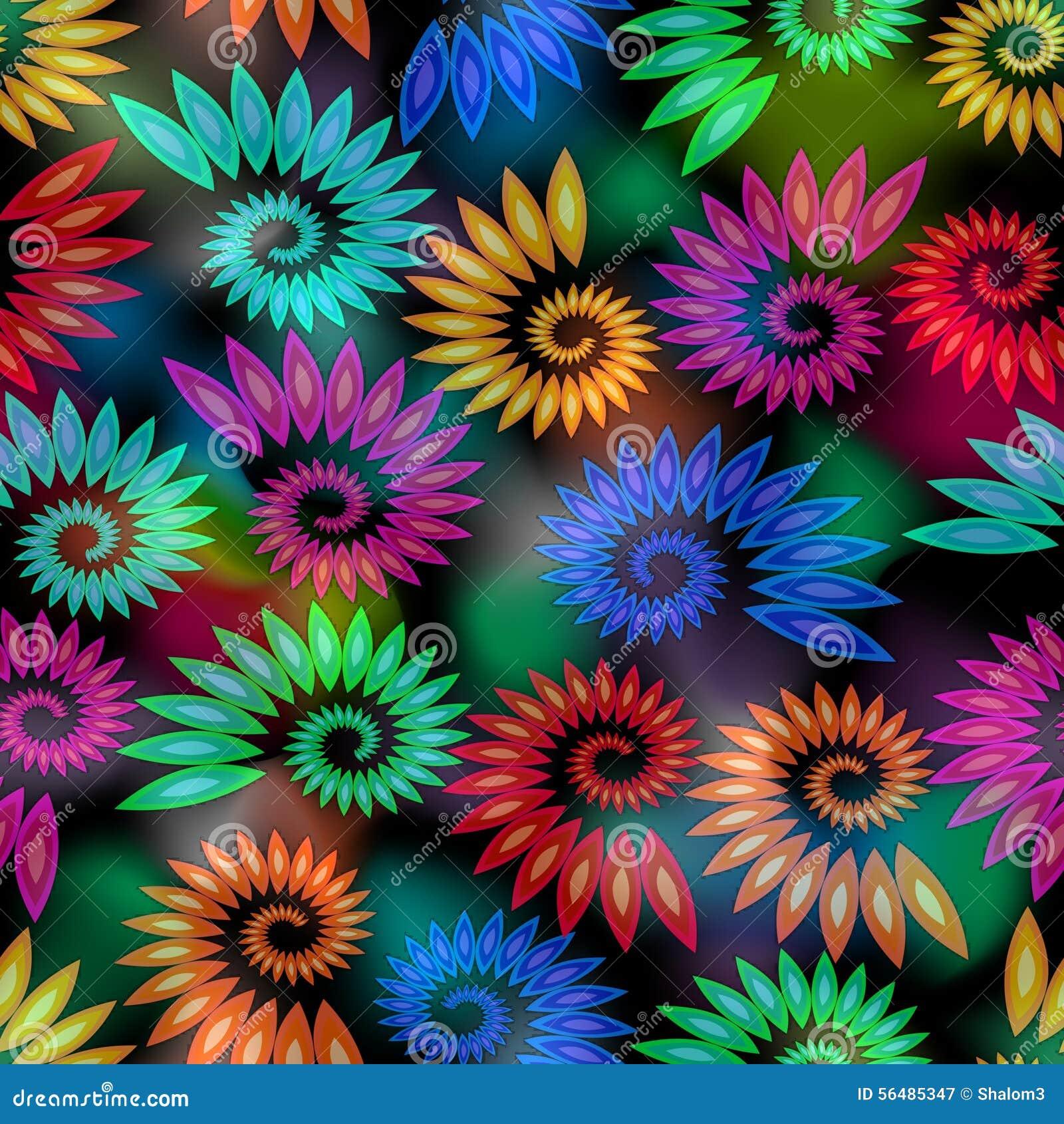 Éléments colorés d escargot sur le fond chiné