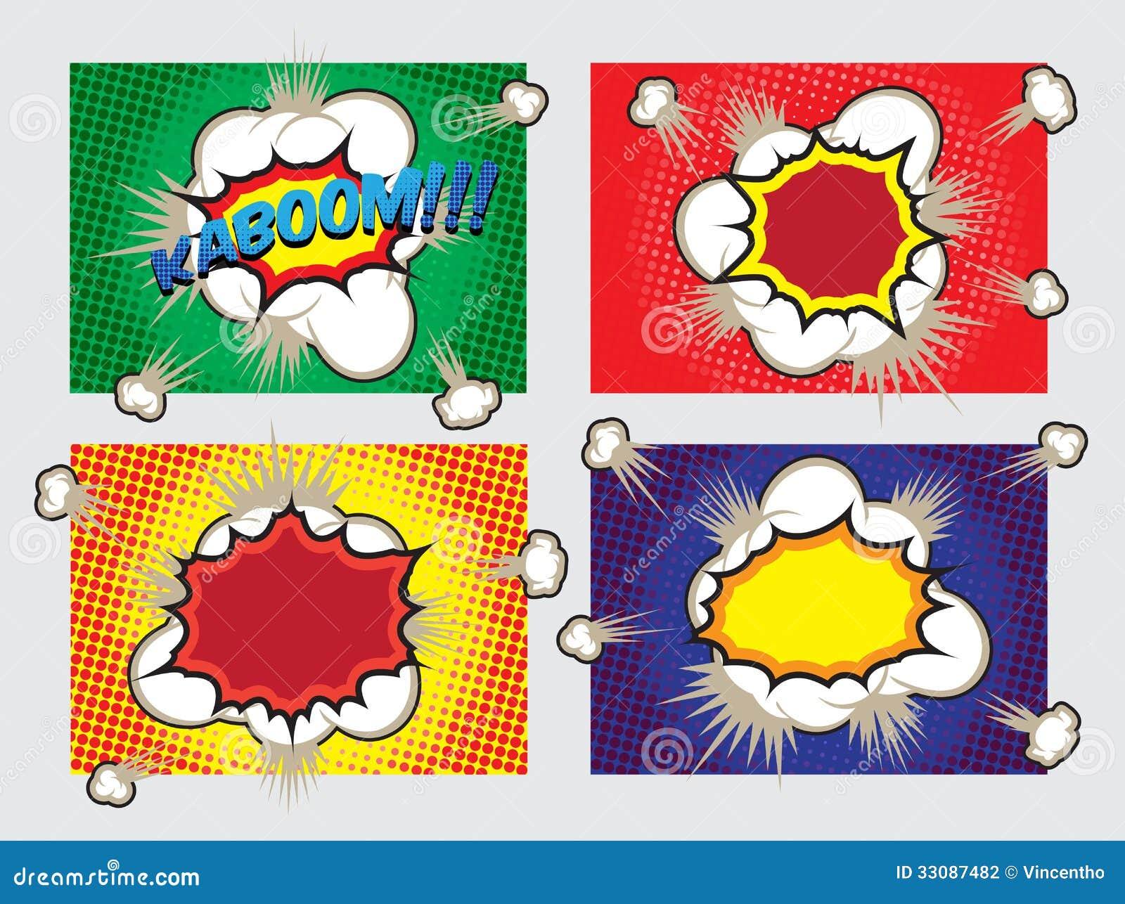 Éléments d Art Big Explosion Effects Design de bruit