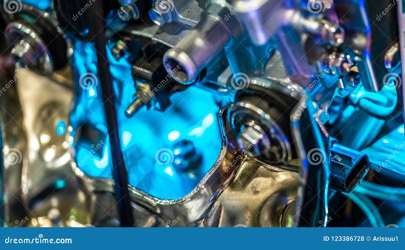 Éléments et système de moteur mécaniques industriels