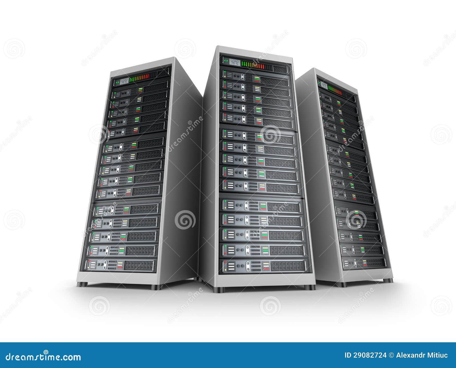 ÉL red del servidor