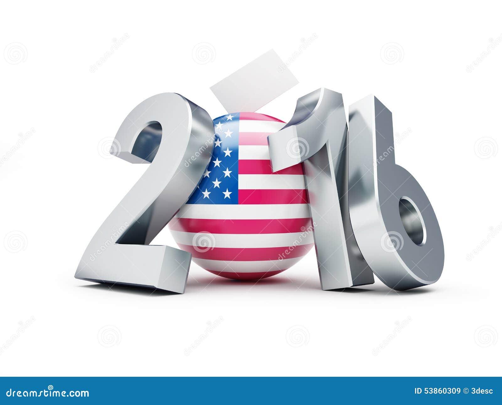 Lection pr sidentielle etats unis en 2016 illustration stock image 53860309 - Election presidentielle etats unis ...