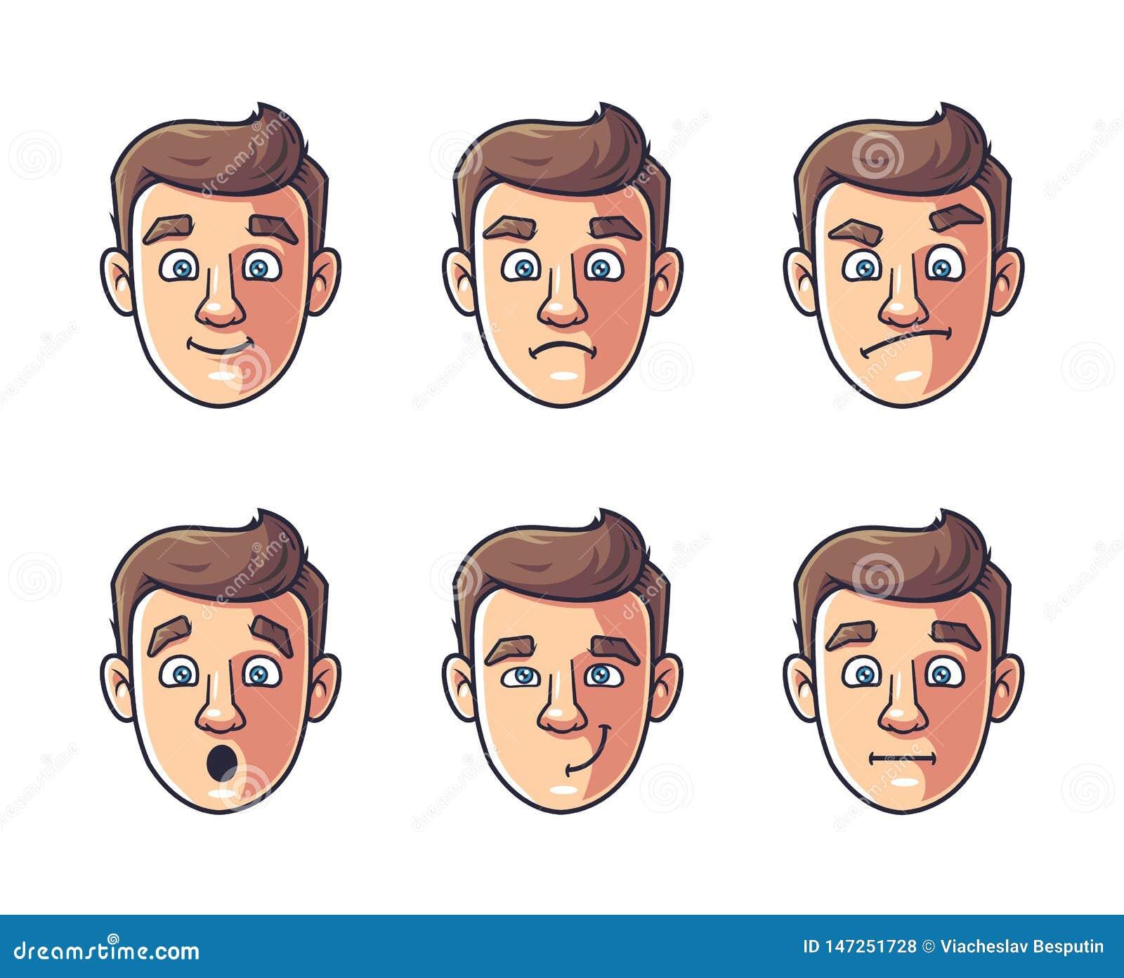 Émotions d un caractère