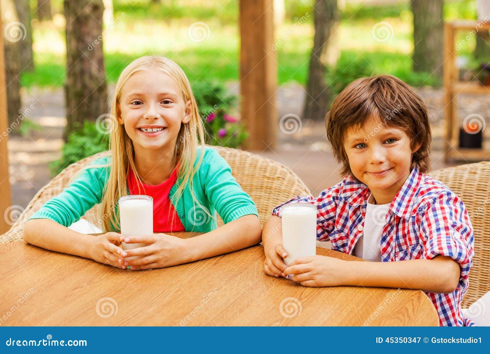 Énergie de rechargement avec du lait frais