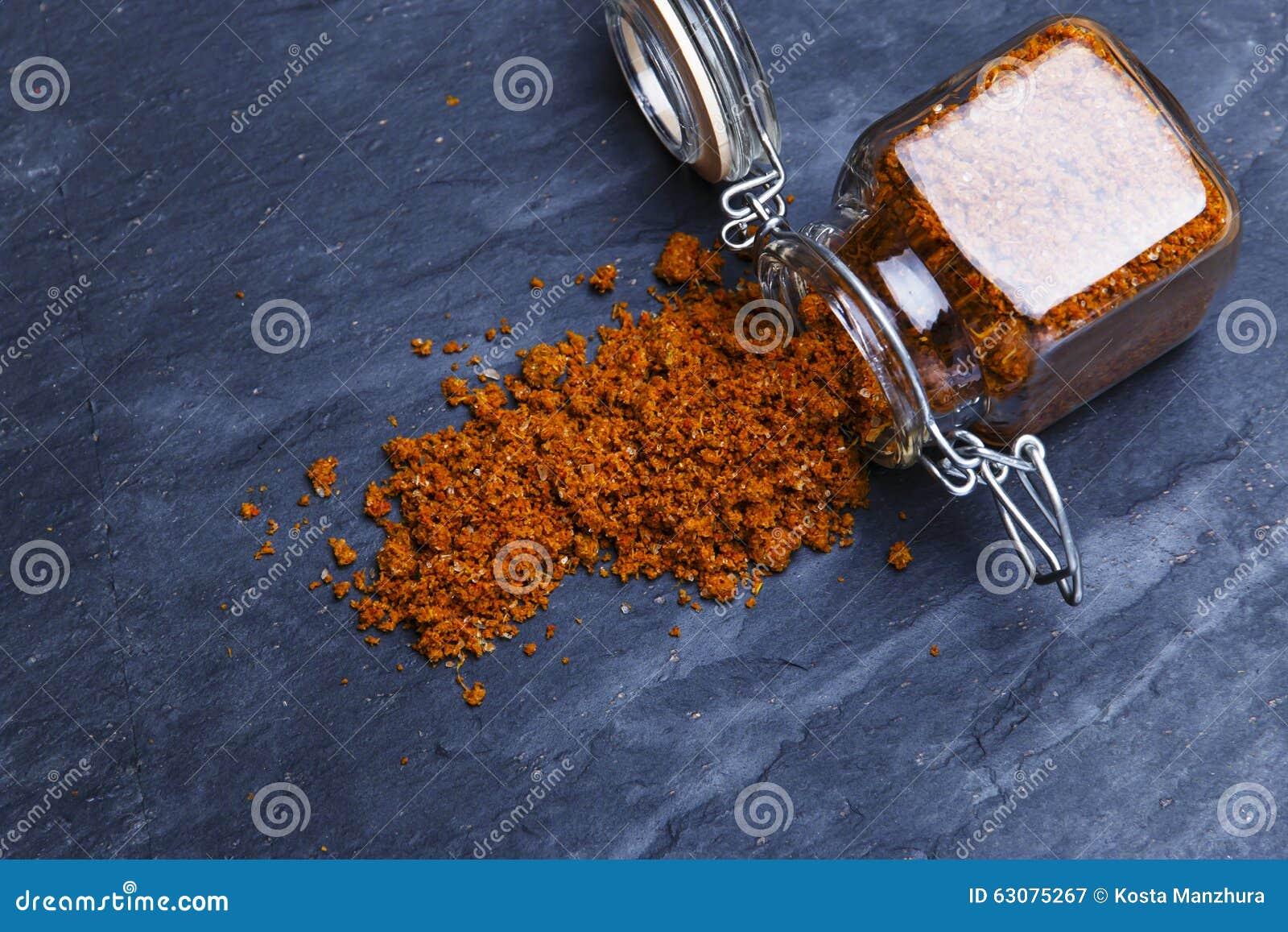 Download Épice Géorgienne Traditionnelle D'assaisonnement De Sel De Svan Image stock - Image du nourriture, normal: 63075267