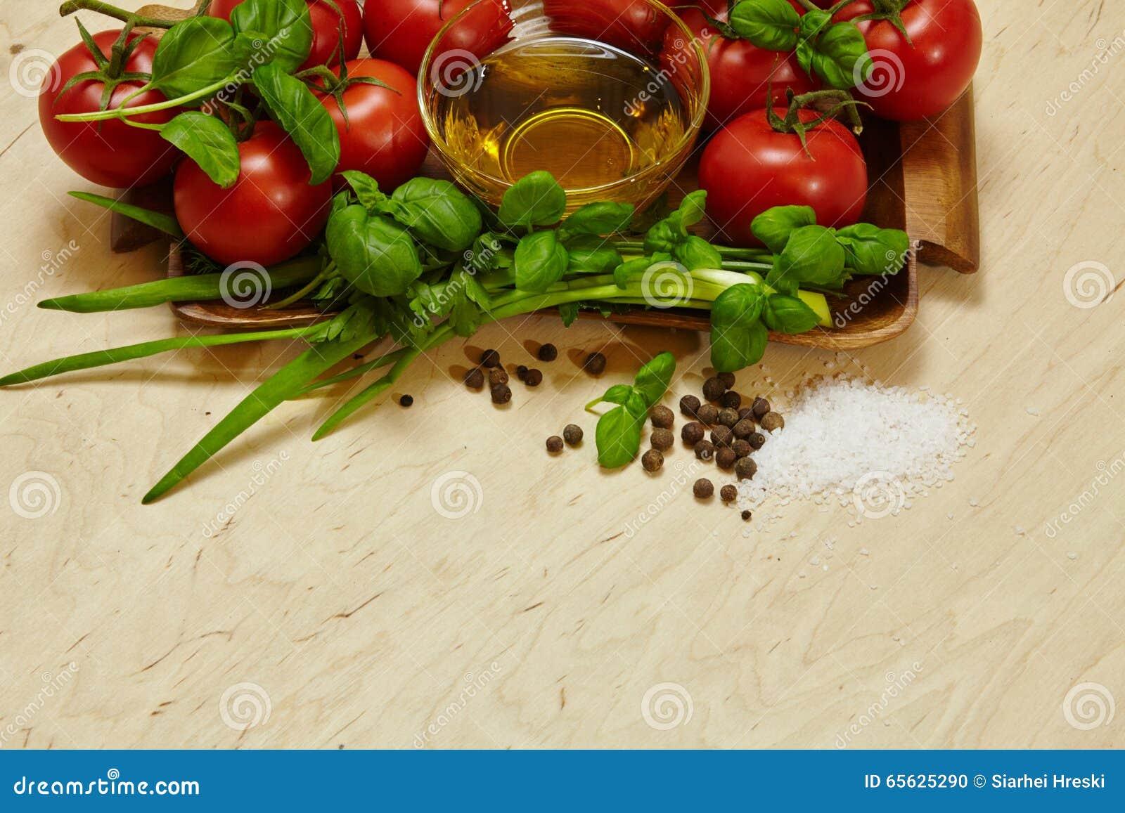 épices de tomates de légumes