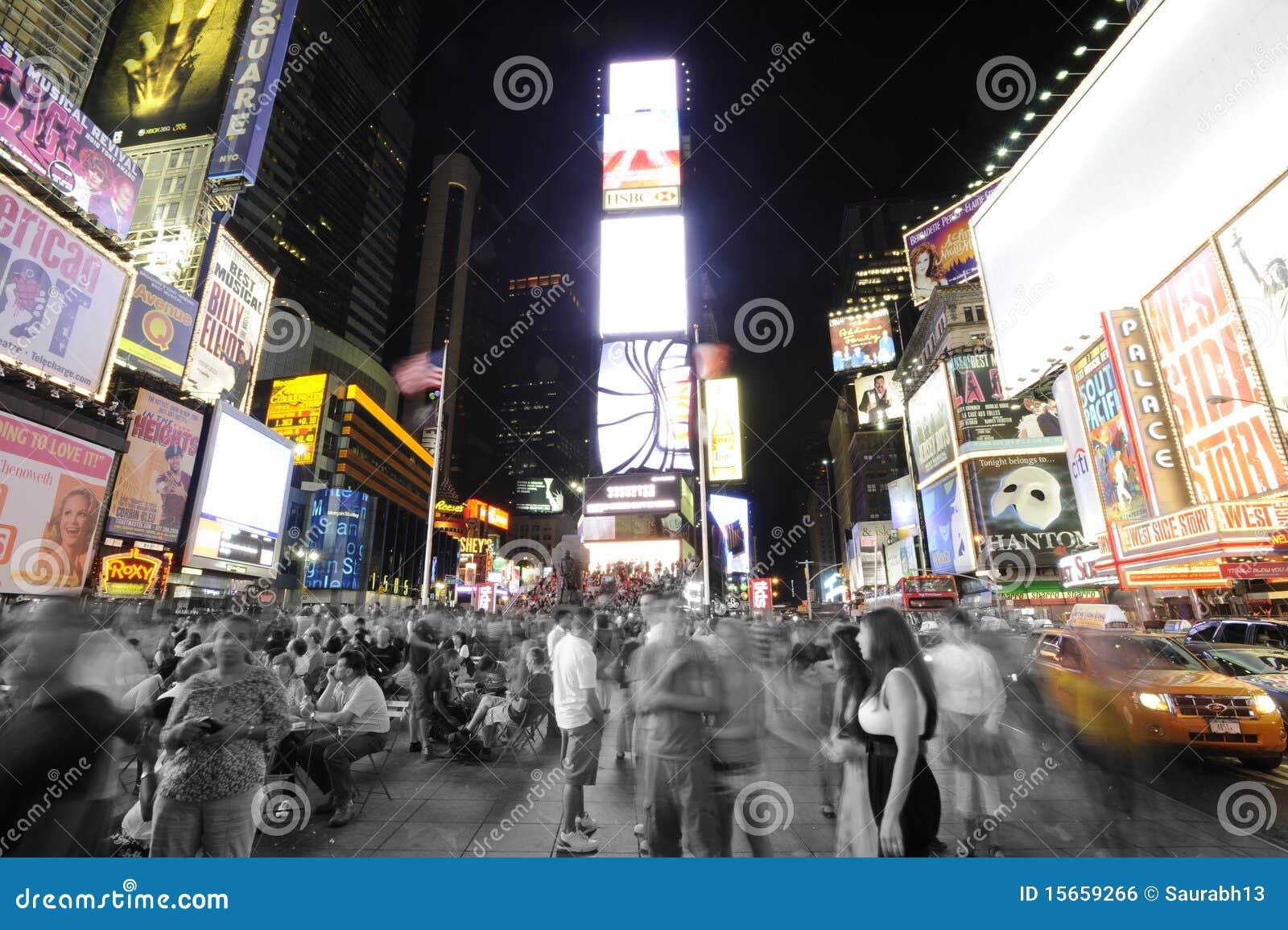 Épocas Sqaure en Nueva York