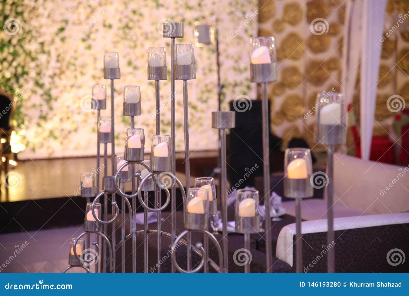 Bougie Décoration De Table épouser la bougie et les fleurs de décoration de table photo