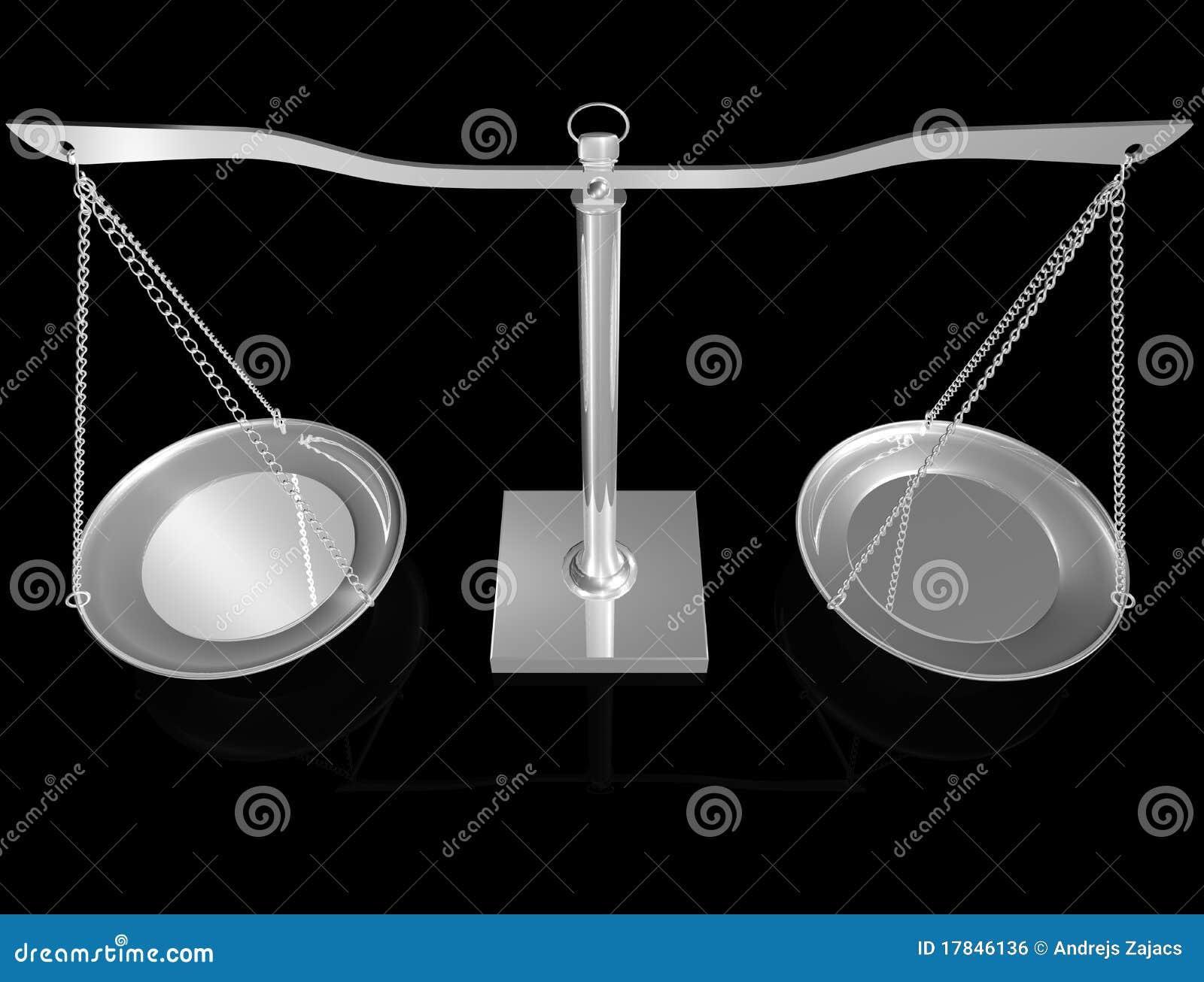 équilibre 3D argenté