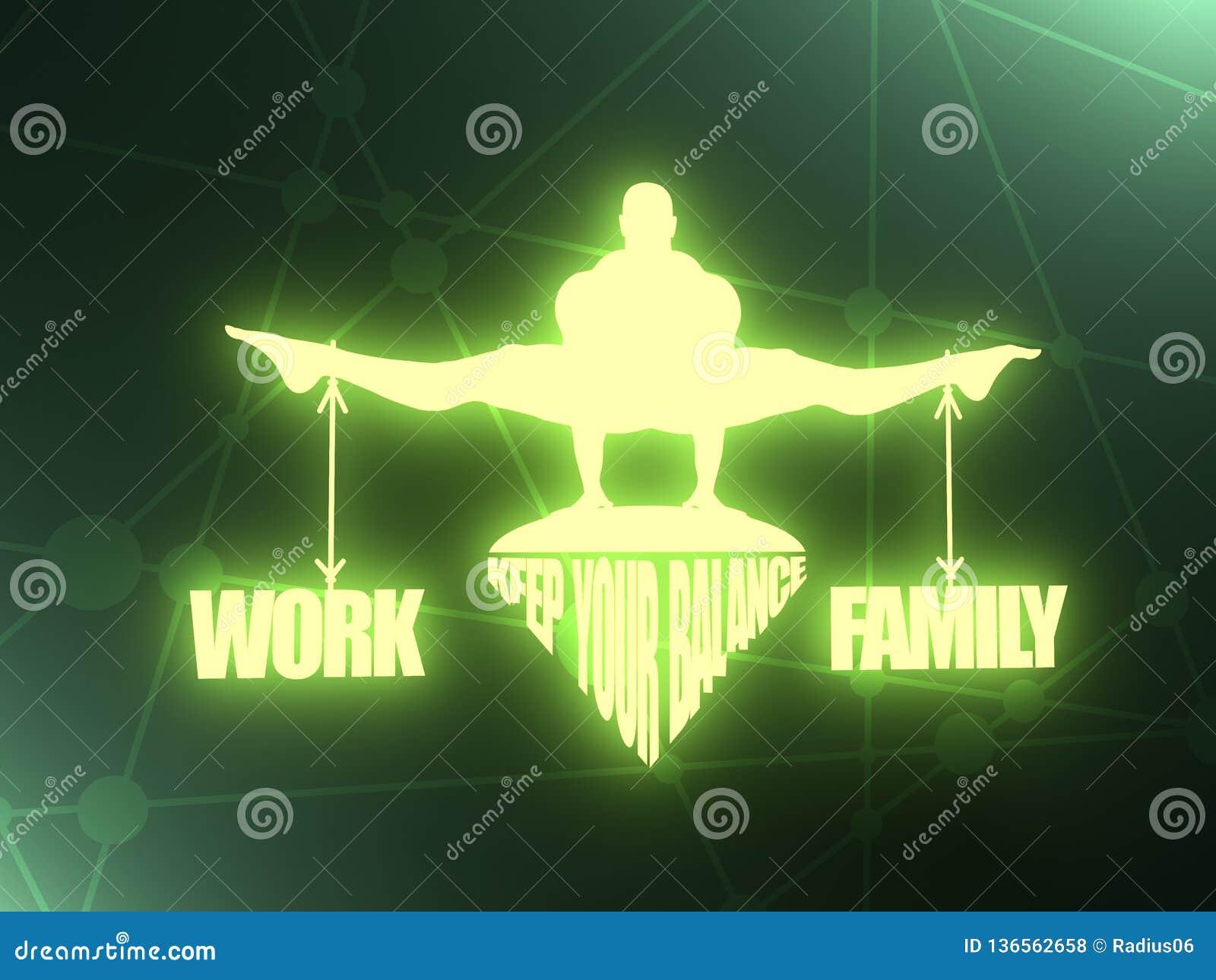 Équilibre de travail et de famille