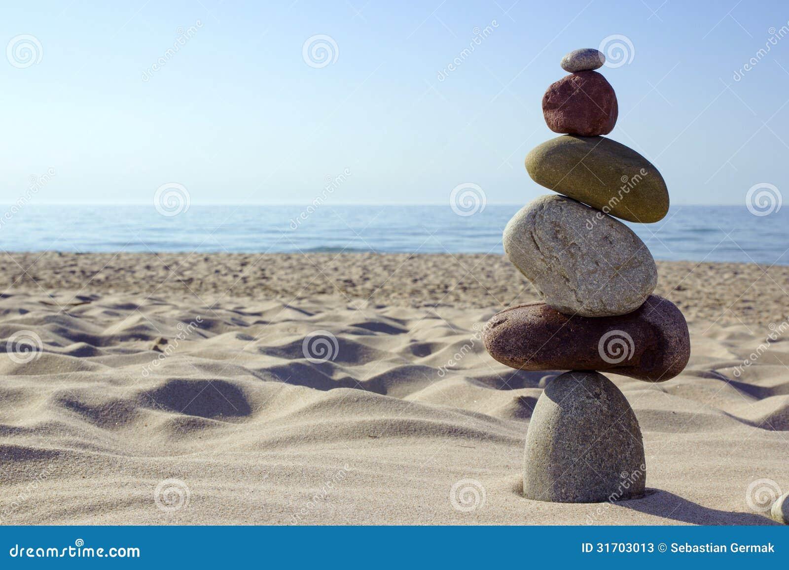 Équilibre en pierre