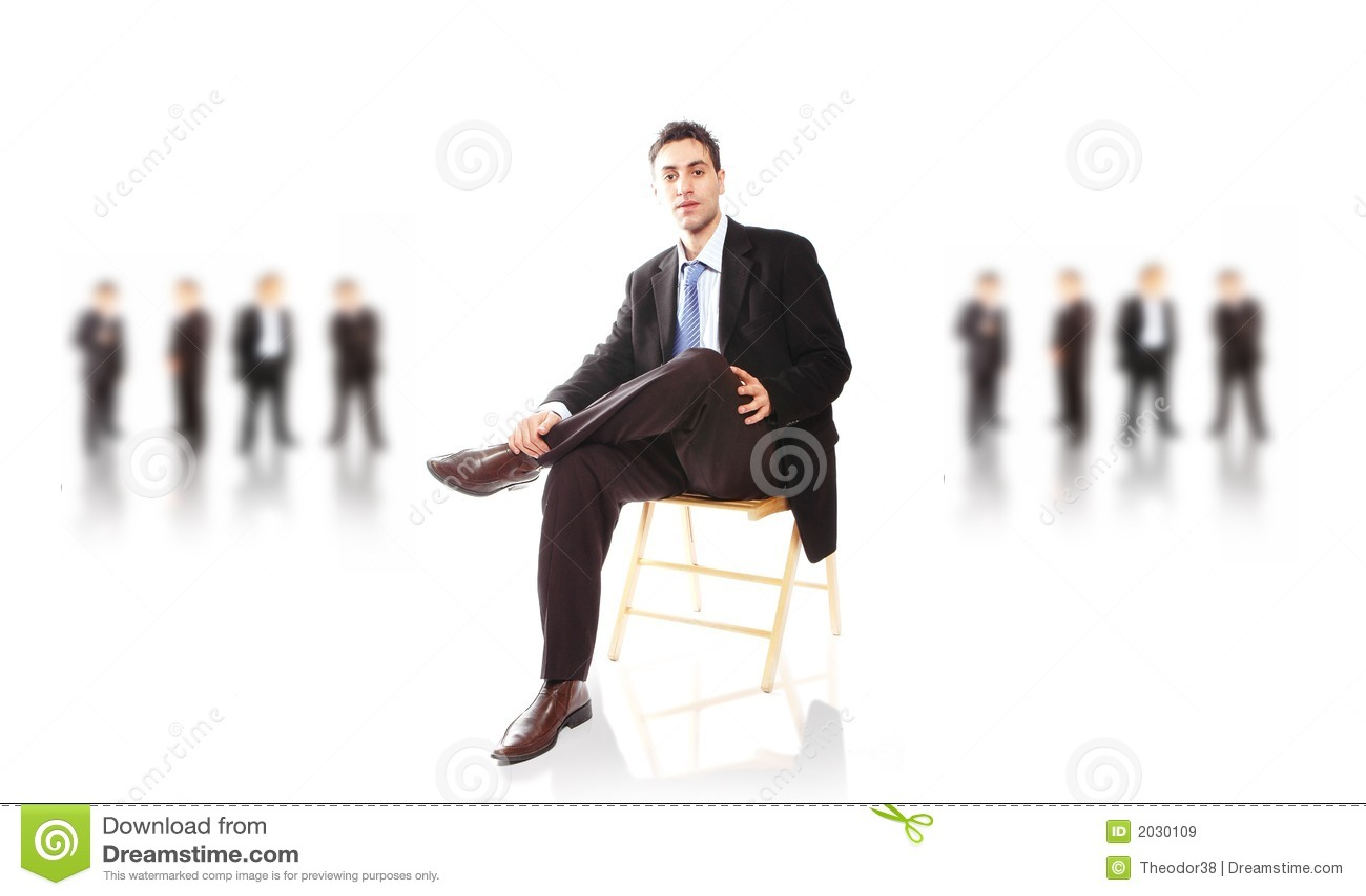Équipe d affaires