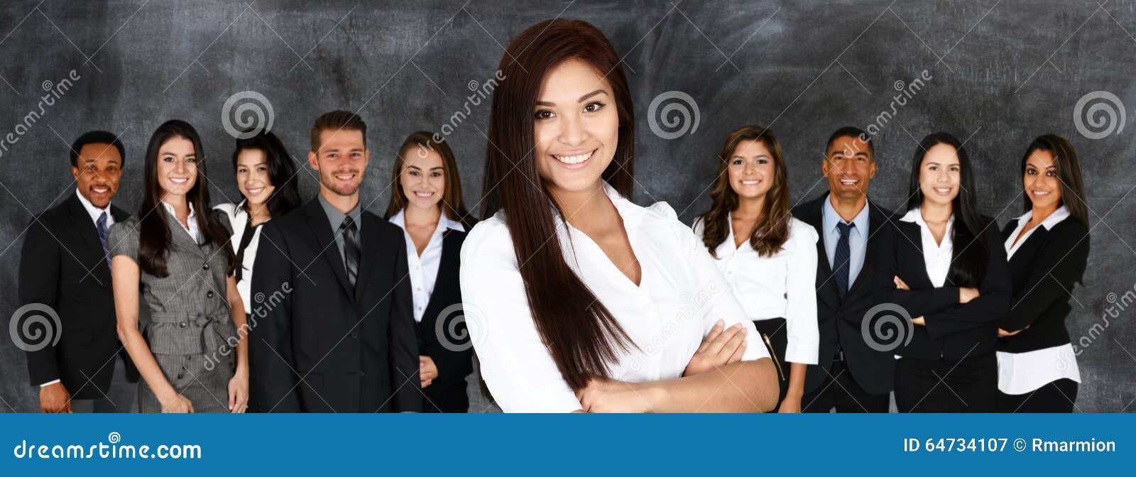 Équipe d affaires au travail
