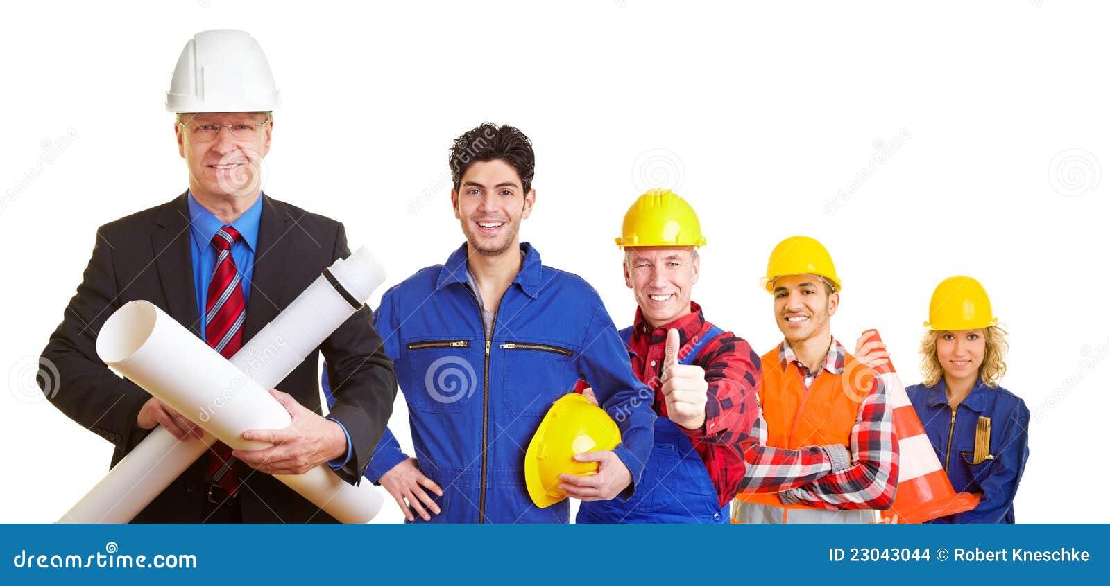 Équipe d architecte et de construction