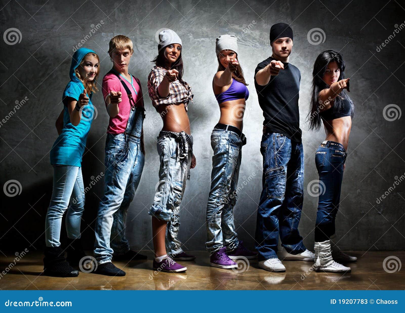 Équipe de danseur