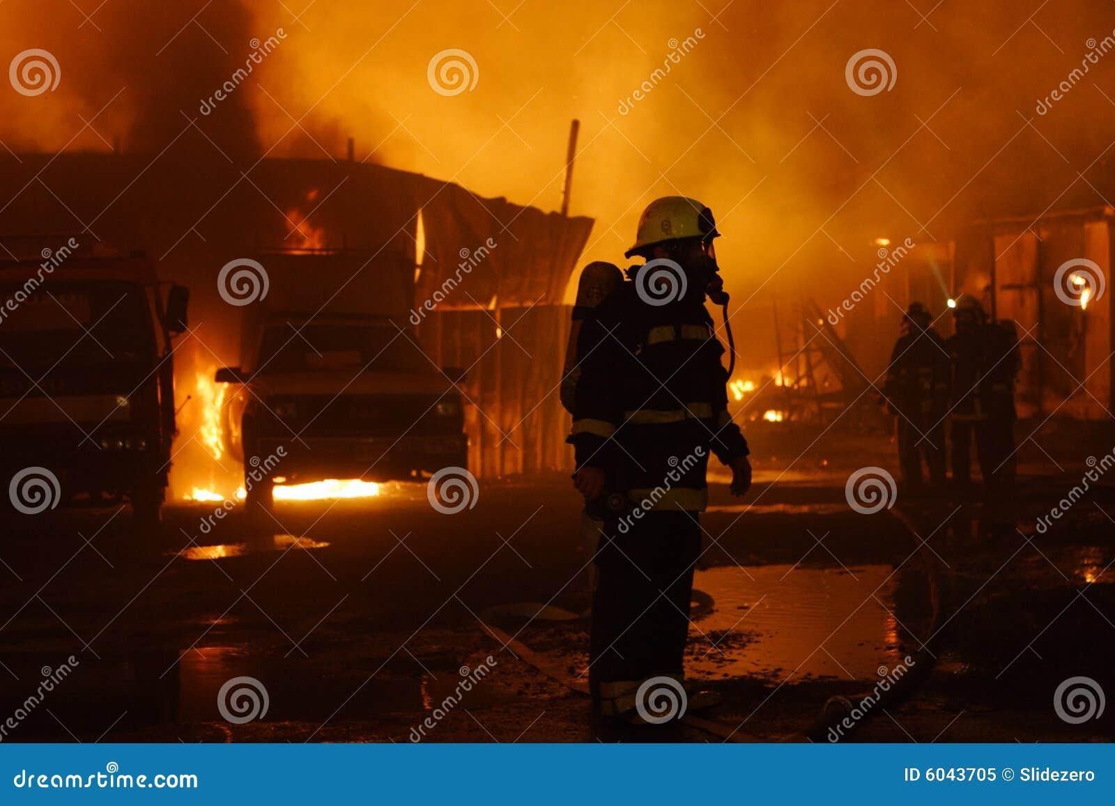 Équipe de sapeurs-pompiers