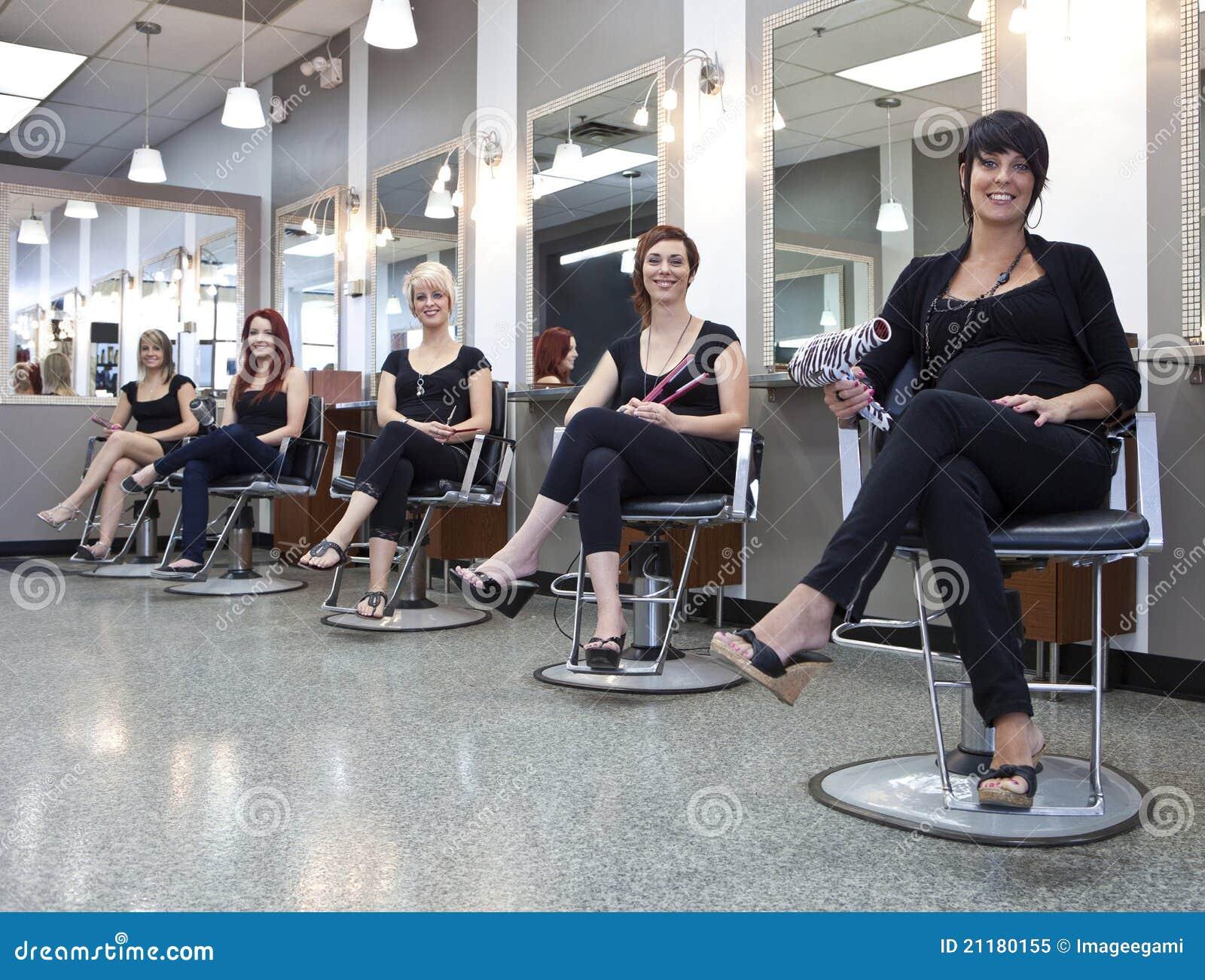 Équipe des coiffeurs