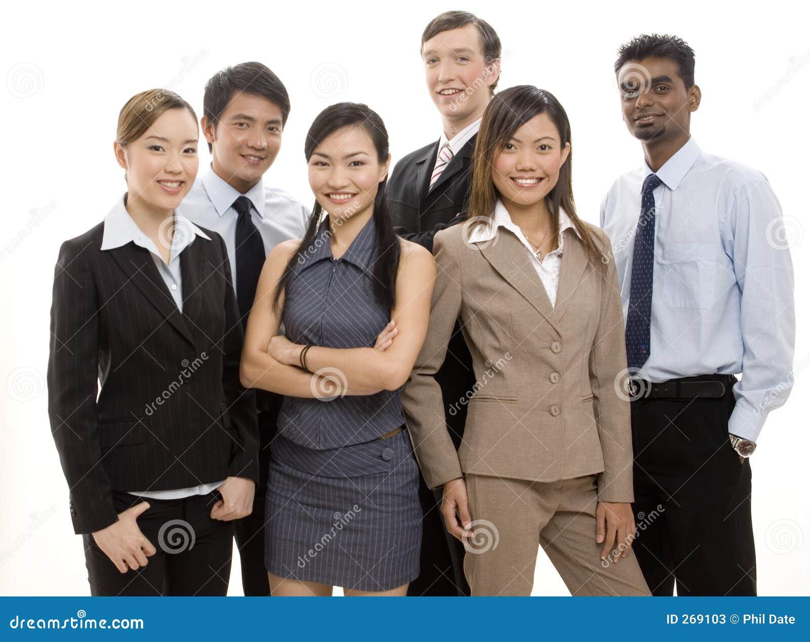 Équipe heureuse 2 d affaires